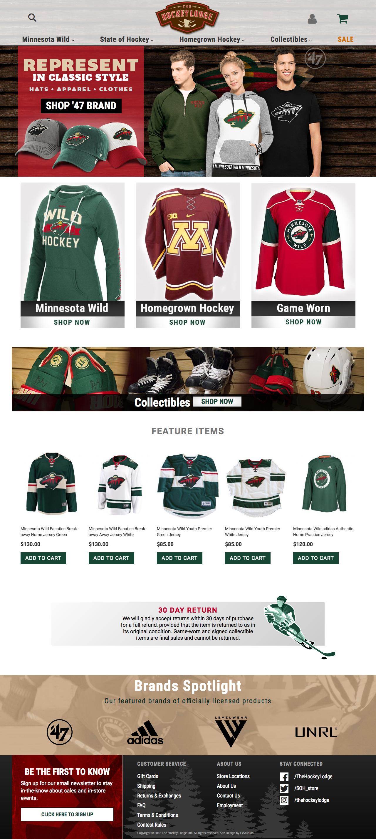 Minnesota Wild -  www.hockeylodge.com