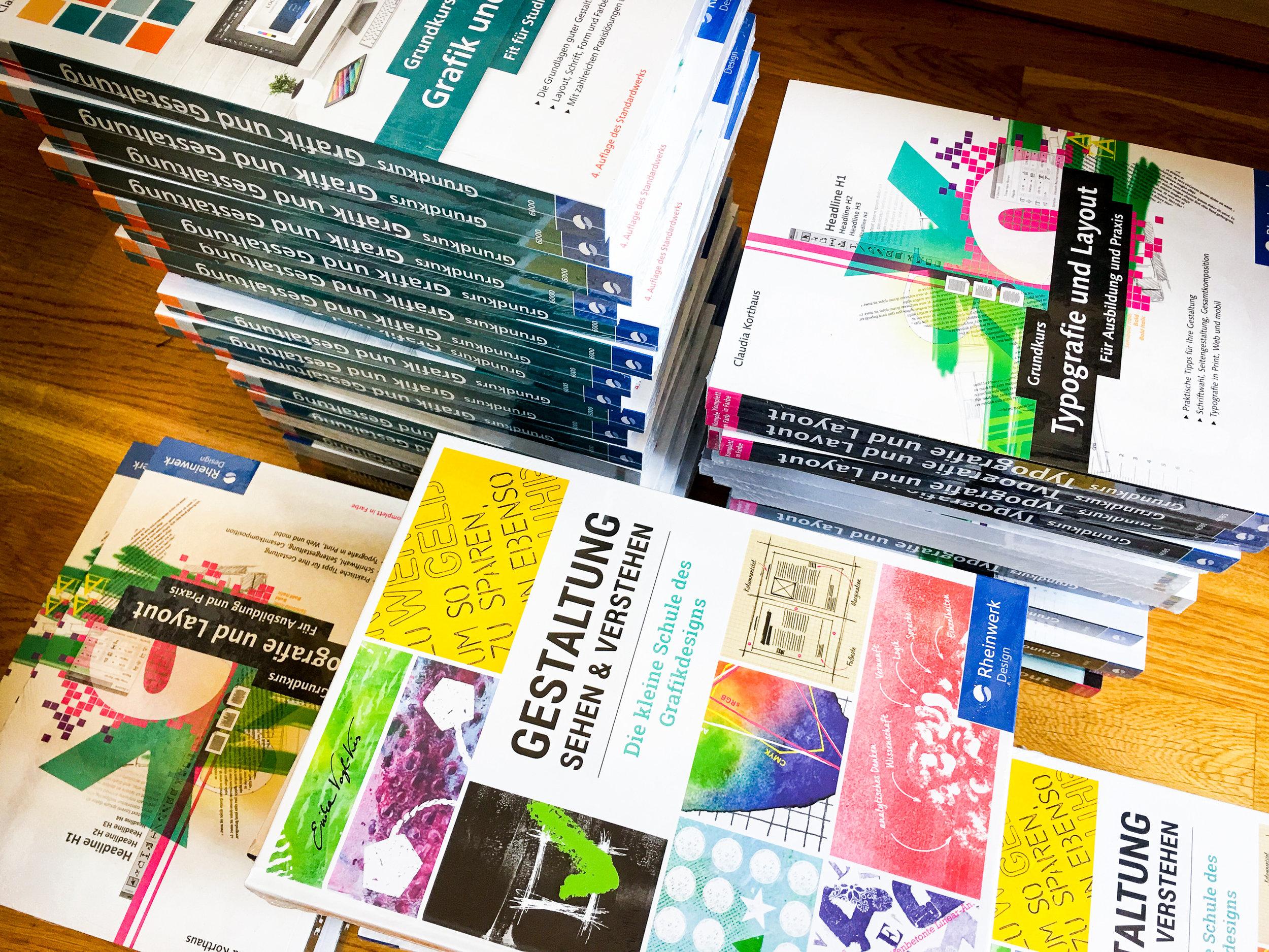 Die LIK Akademie für Foto und Design empfiehlt die Bücher des Rheinwerk Verlags.