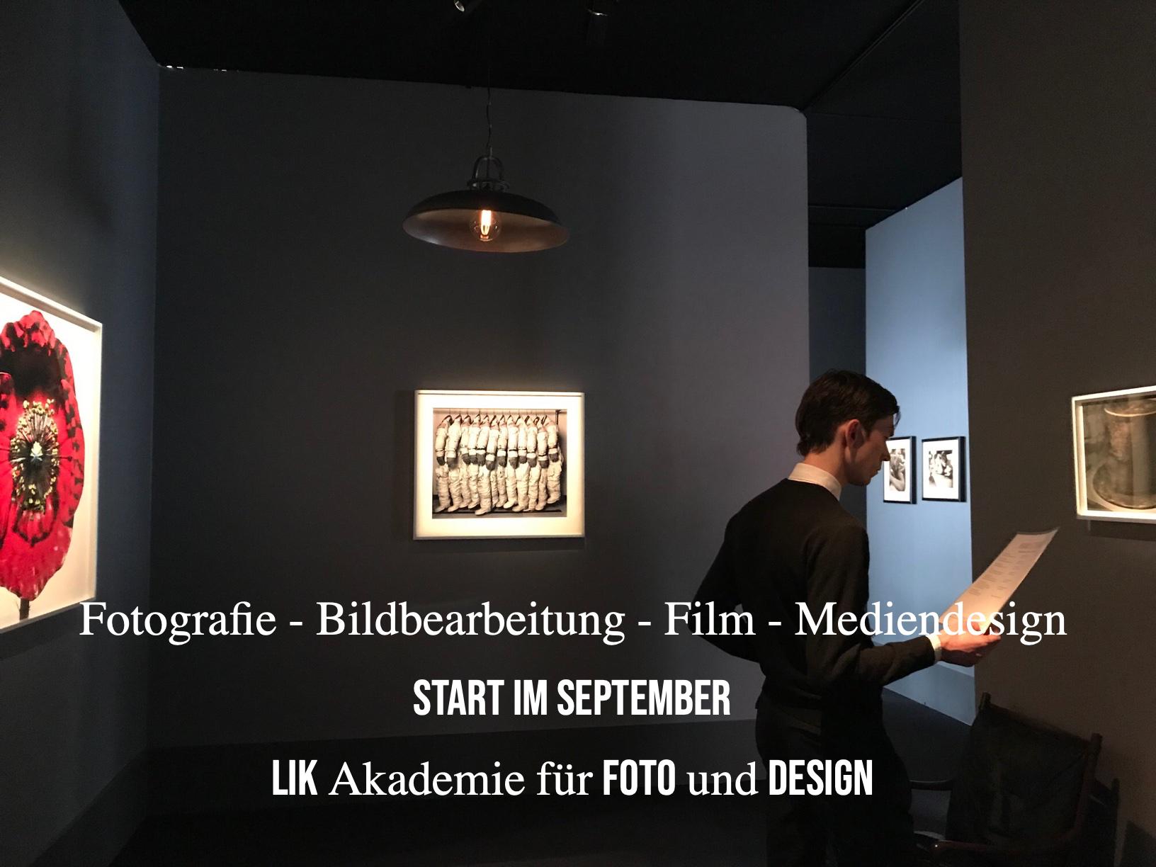 Ausbildung Fotografie, Film und Mediendesign - LIK Akademie für Foto und Design