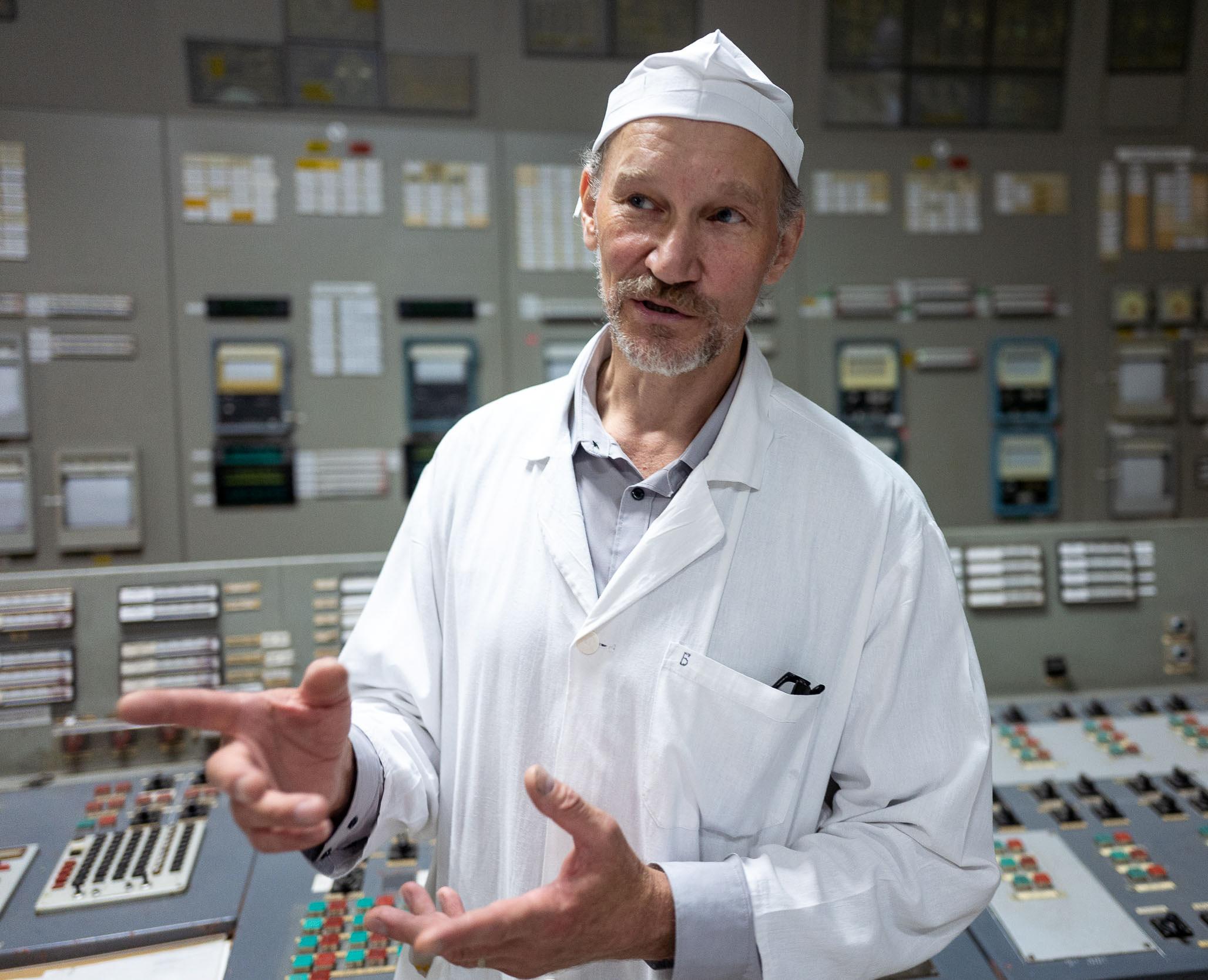Alexeij Beus - der letzte Mann im Kontrollraum beim Unglück!