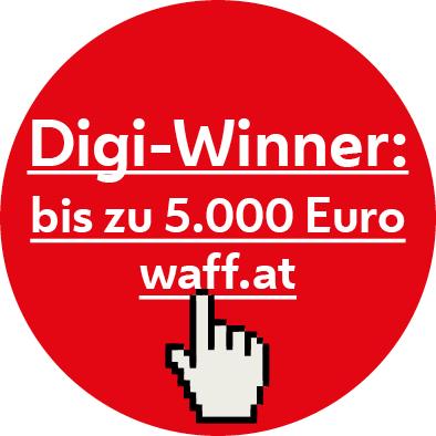 Dieser Lehrgang der LIK Akademie für Foto und Design ist für die Digiwinner Förderung von AMS und waff Wien anerkannt!   Die Digitalisierung verändert unsere Arbeitswelt und viele Berufe. Das öffnet Arbeitnehmerinnen und Arbeitnehmern neue Türen und bringt auch neue Herausforderungen. Gemeinsam fördern Arbeiterkammer Wien (AK) und der waff mit dem Digi-Winner berufliche Aus- und Weiterbildungen im Bereich Digitalisierung. Den  Digi-Winner  gibt es für  Wienerinnen und Wiener , die  AK-Mitglied  sind. Sie können damit  bis zu   5.000 Euro  Förderung für berufliche Weiterbildung bekommen.  https://www.waff.at/foerderungen/digi-winner/