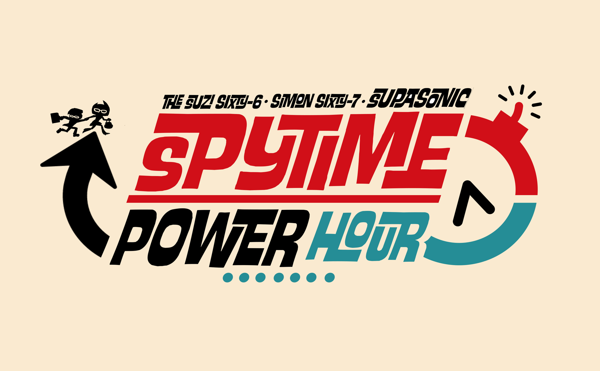 Suzi Sixty-6  and brother  Simon Sixty-7  travel in time, stopping fashion, style and gadget disasters before they happen!It's another exciting episode of the  SupaSonic SpyTime Power Hour !