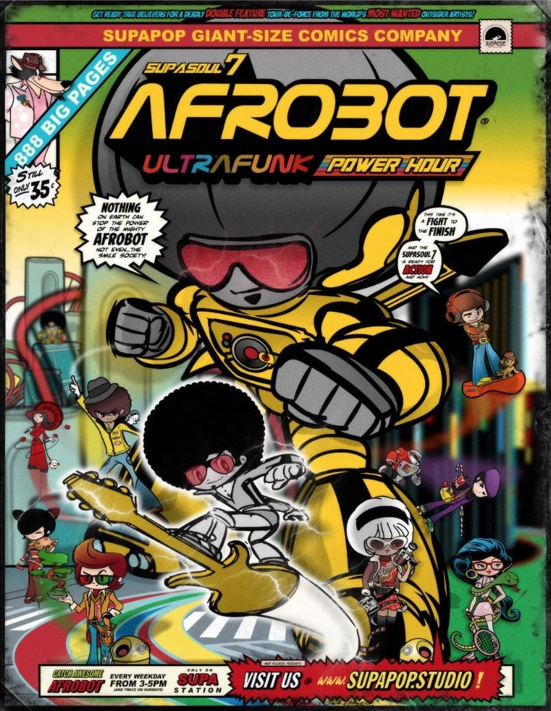 AFROBOT Comic Cover