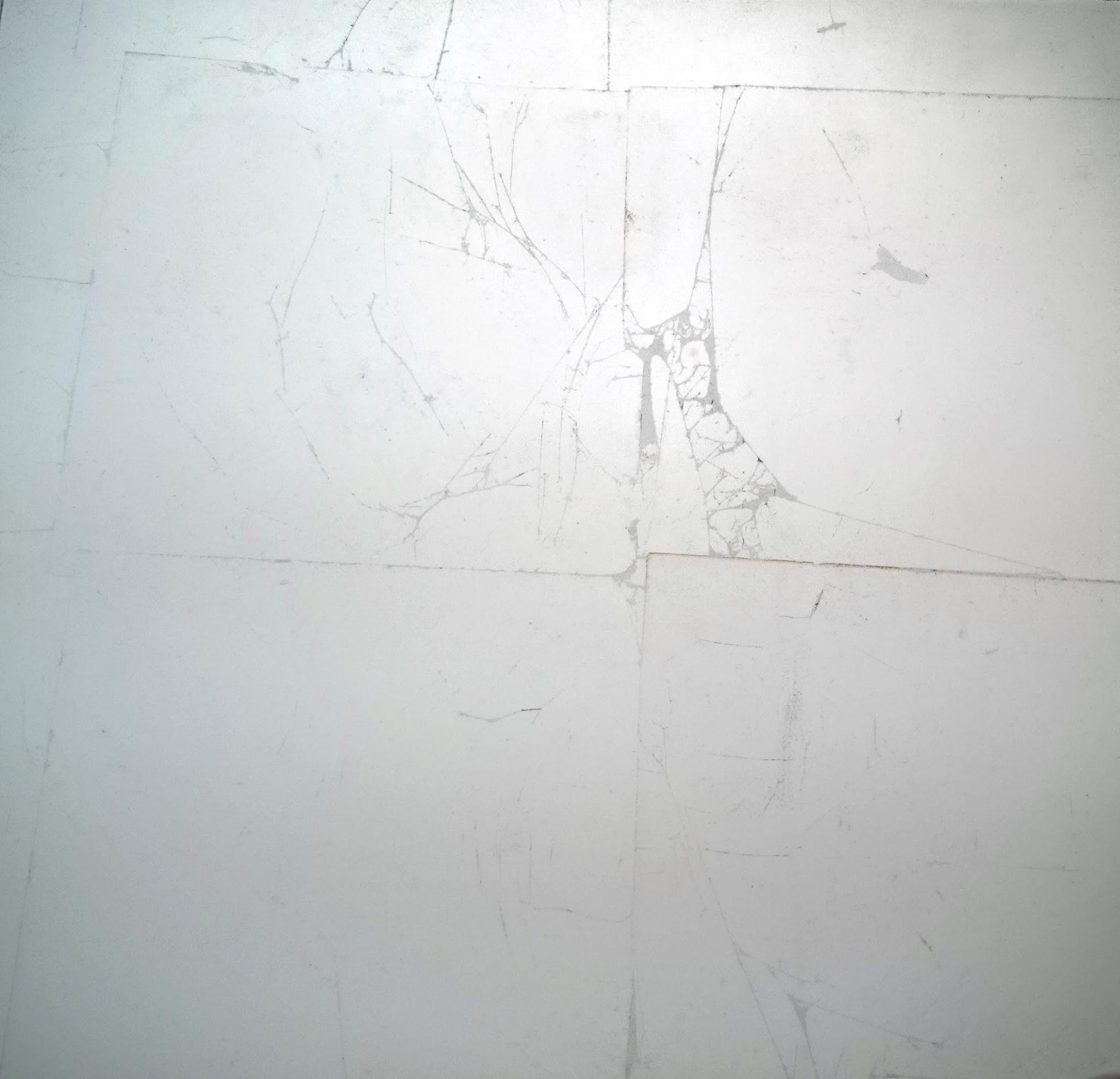 8. Verre Eglomise. Skaidrus stiklas dengtas sidabro lapeliais.