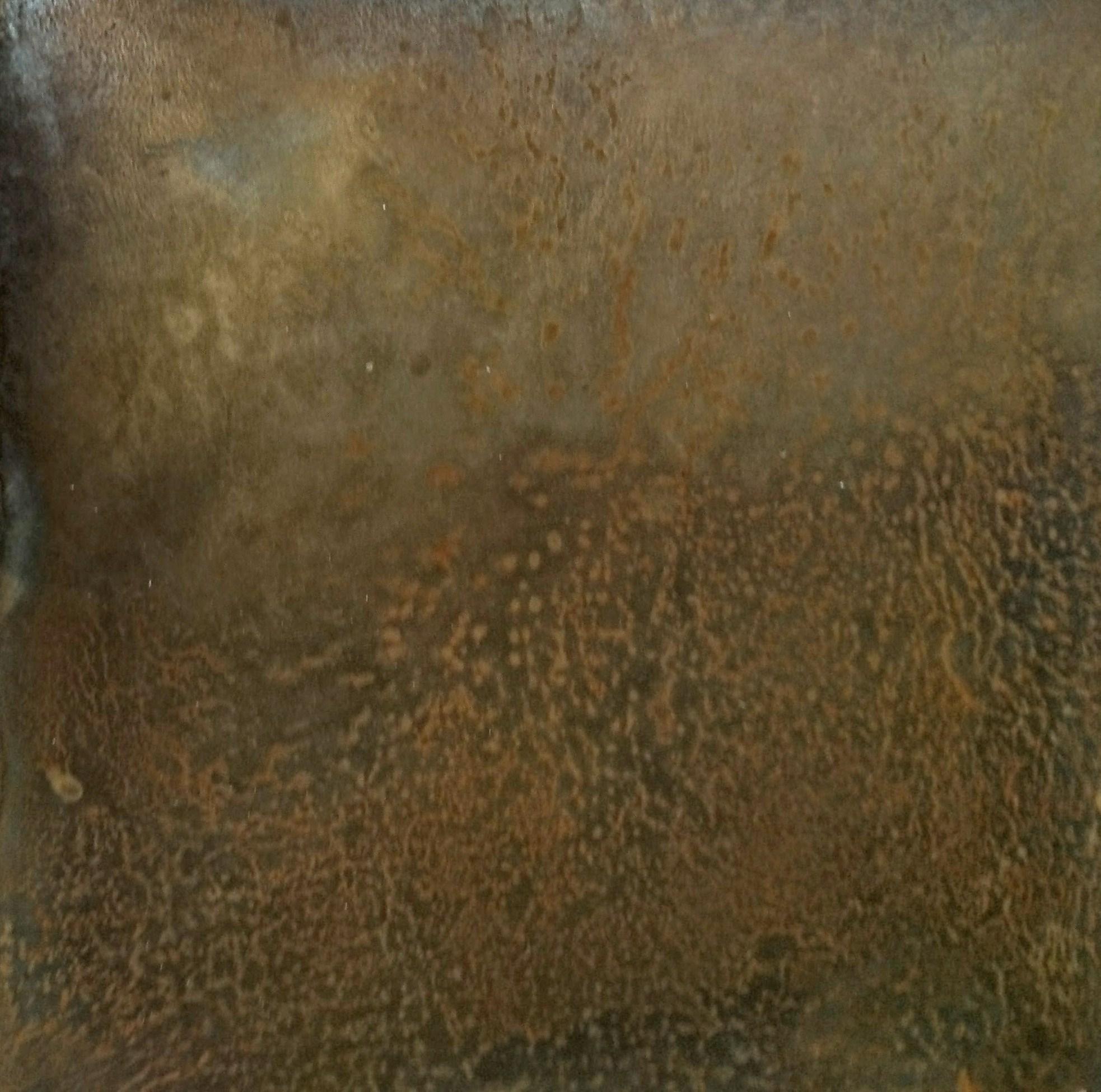 22.Tikrų rūdžių sluoksnis ant plieno.