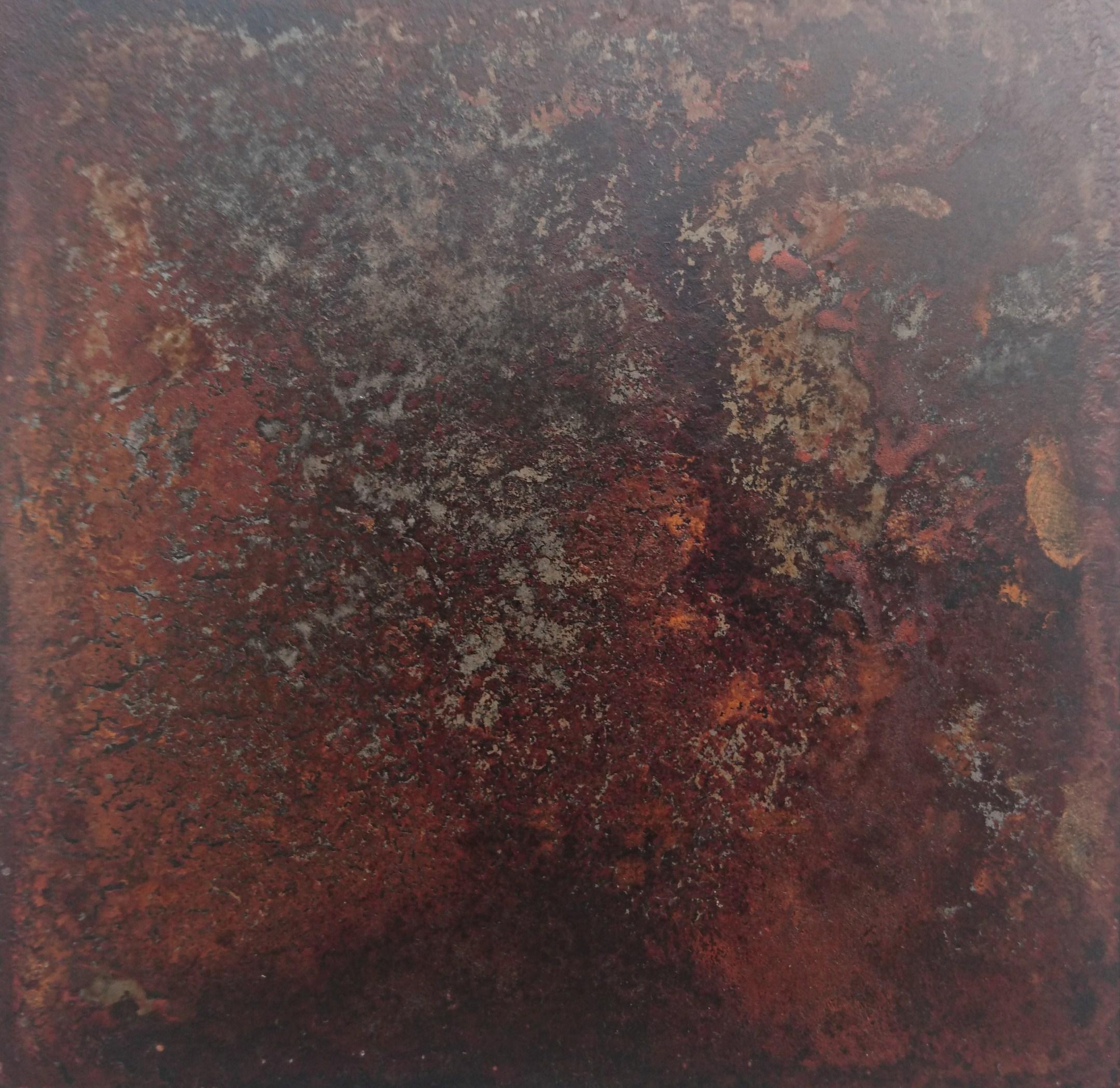 26. Tikrų rūdžių sluoksnis ant plieno
