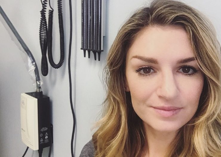 Paige Gibbons' endometriosis went undiagnosed for seven years. She's still waiting for the surgery that gives her the best chance for less pain; her insurance doesn't cover the procedure. Courtesy of Paige Gibbons