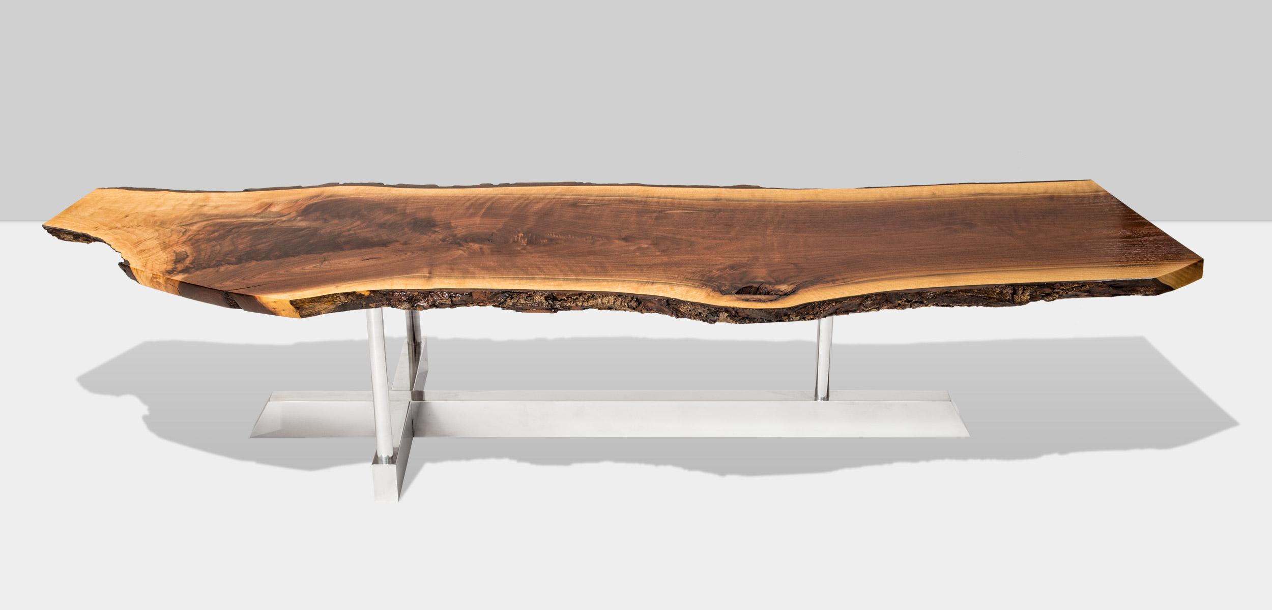 WALNUT T TABLE