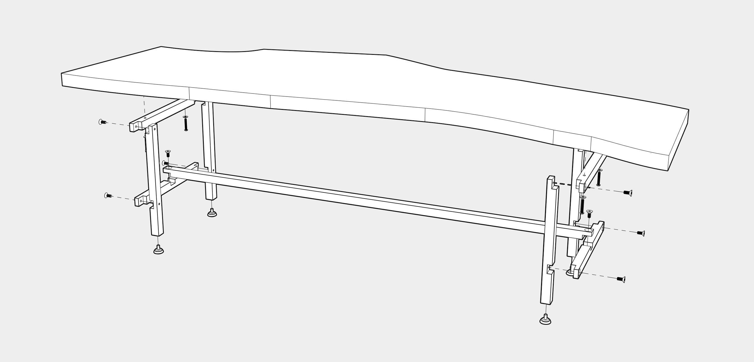 H TABLE CONSTRUCTION
