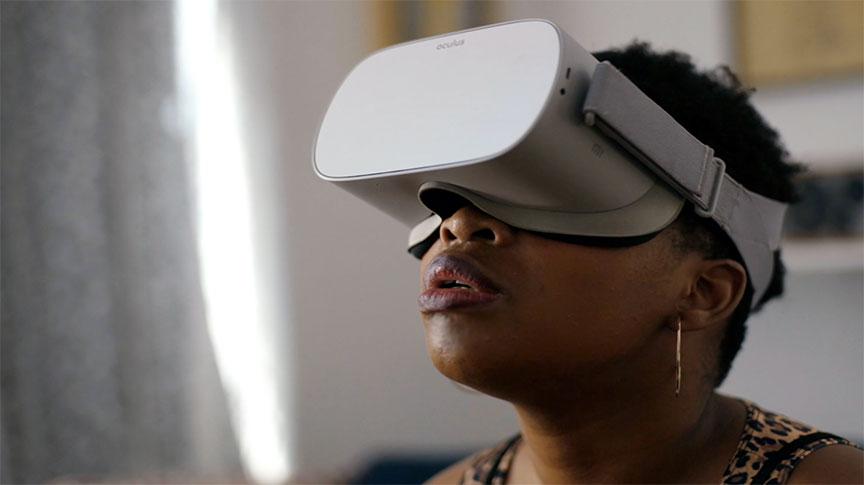 OCULUS  VR FOR CHANGE