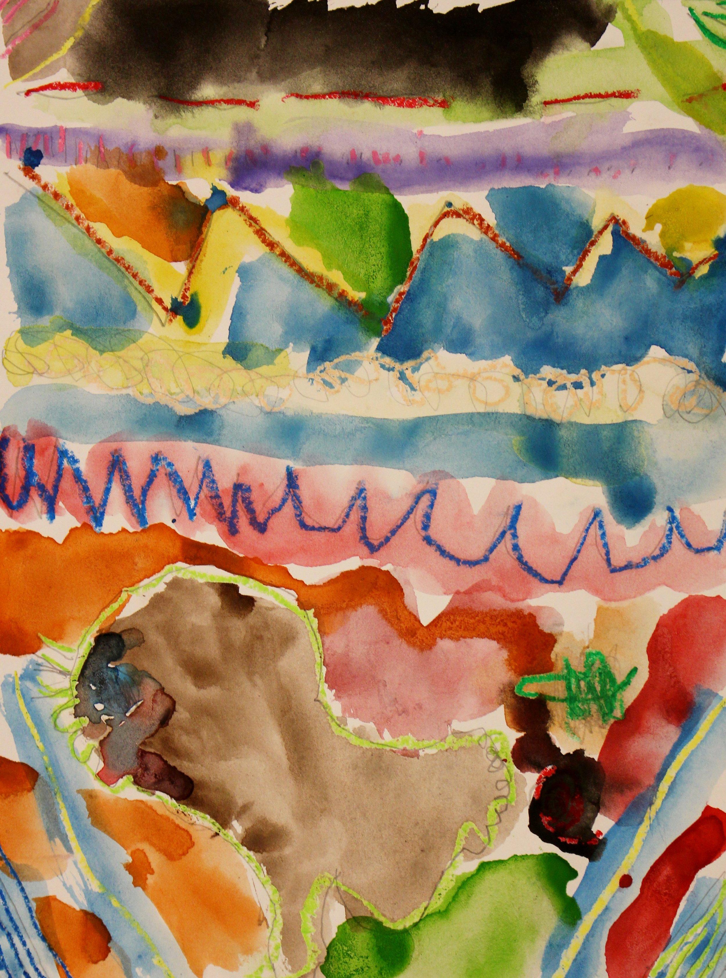 Kindergarten: Riley Smith (Cave art)