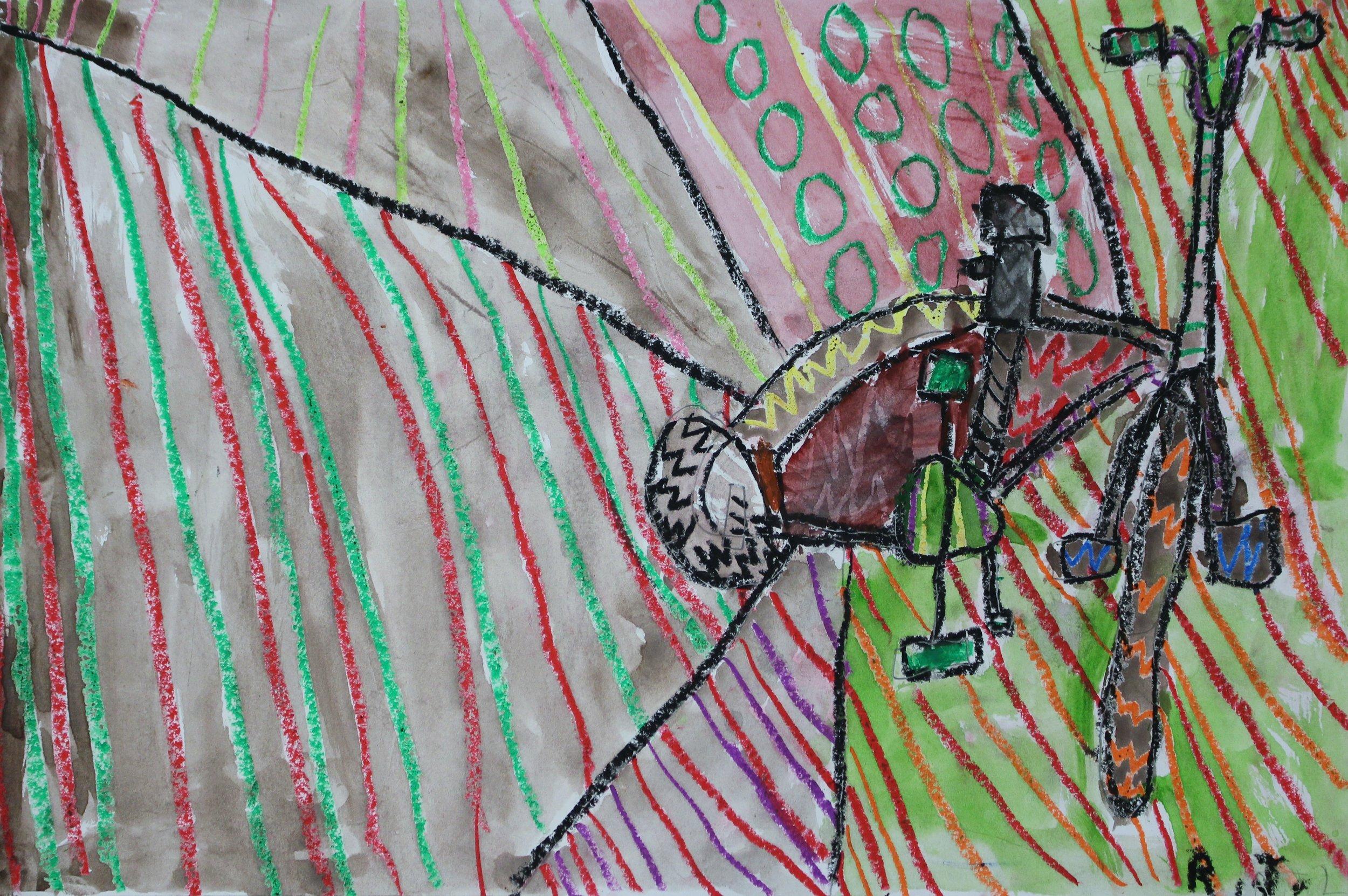 2nd Grade: Robert Buckley (Romero Britto Pop Art)