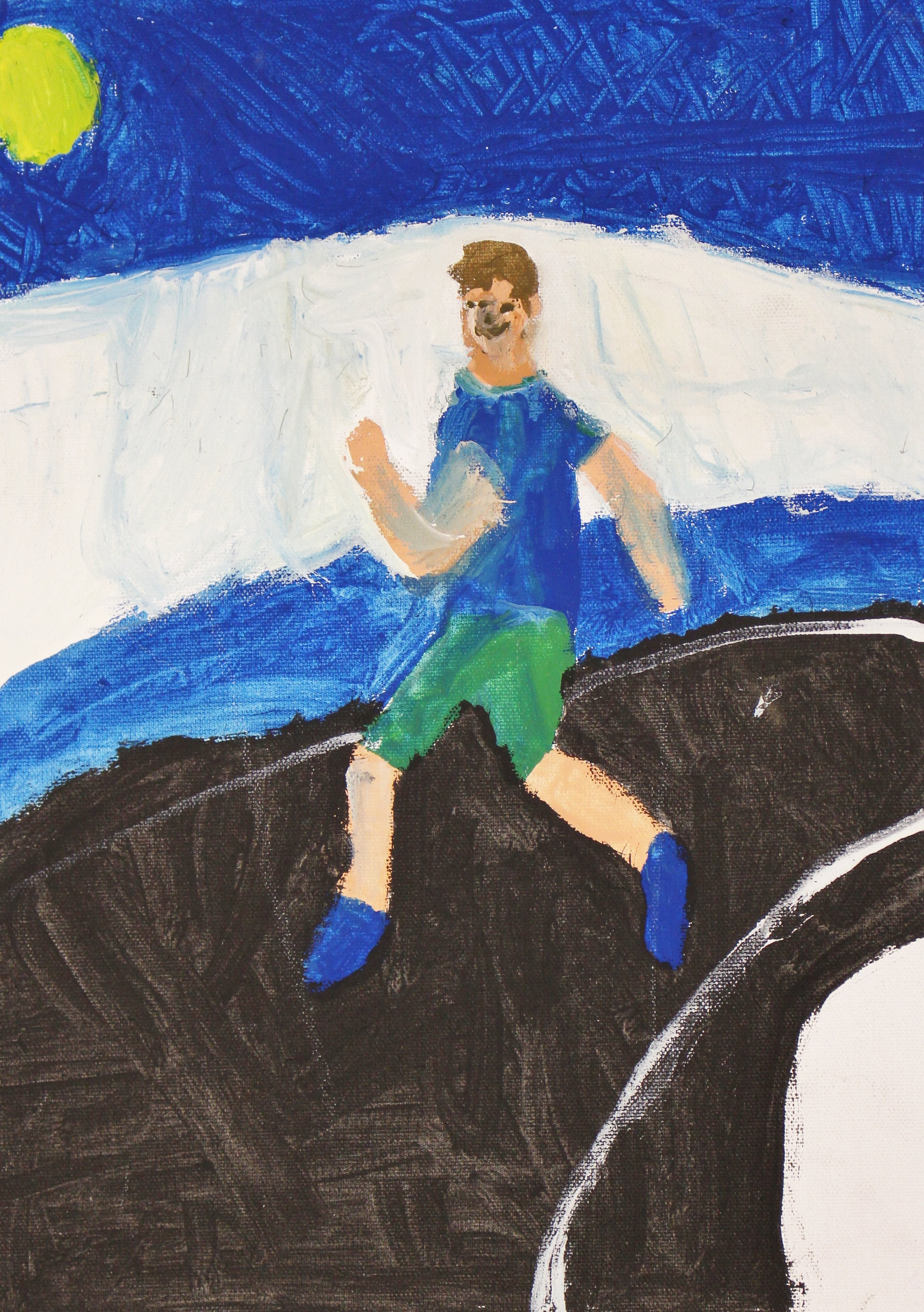 5th Grade: Owen Rathfon (Olympic Athlete in Motion)