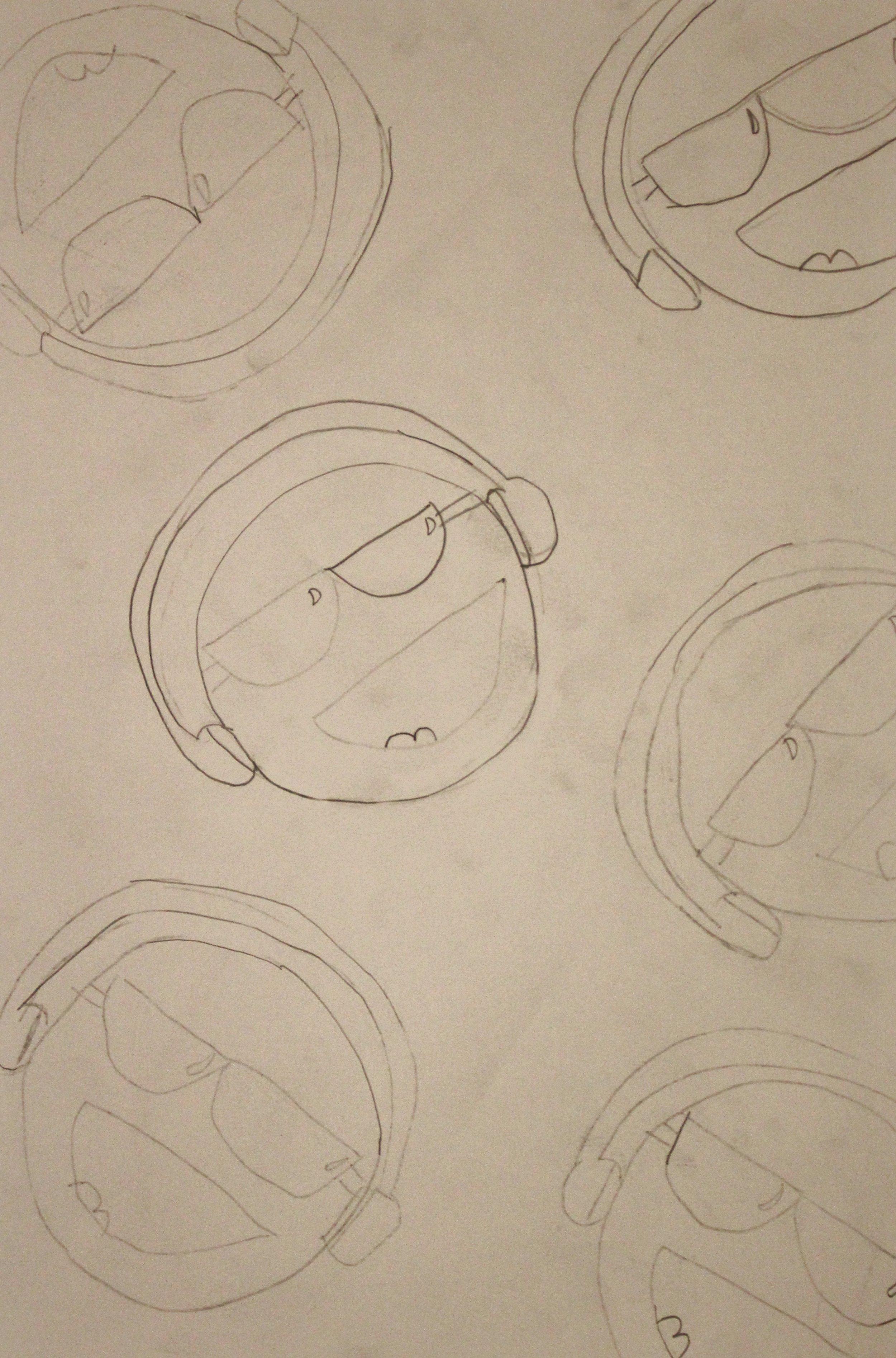 Fifth Grade: Emma Serrano (Pop Art Printing- Work In Progress)