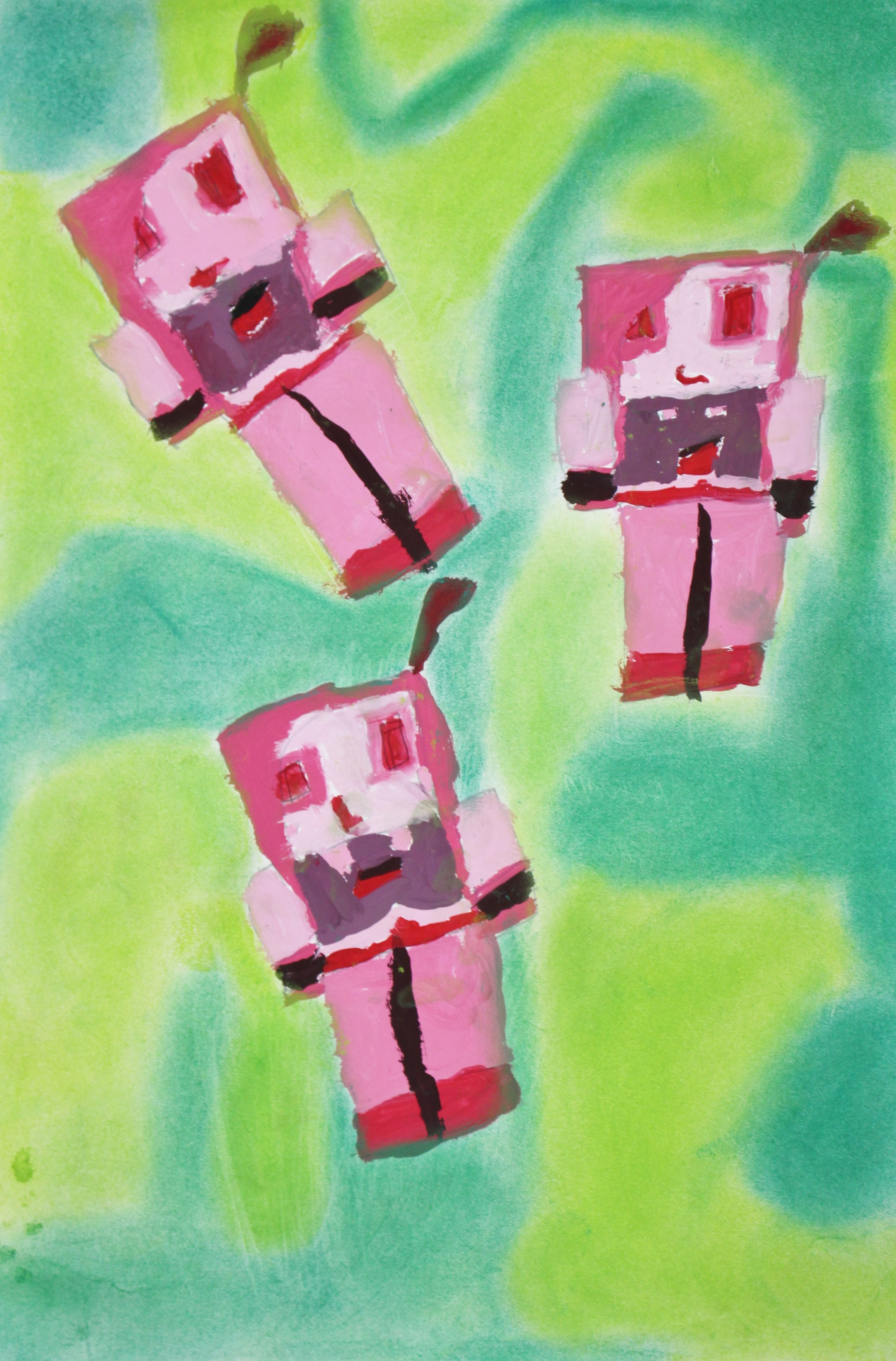 Fifth Grade: Autumn Workman (Pop Art- Work in Progress)