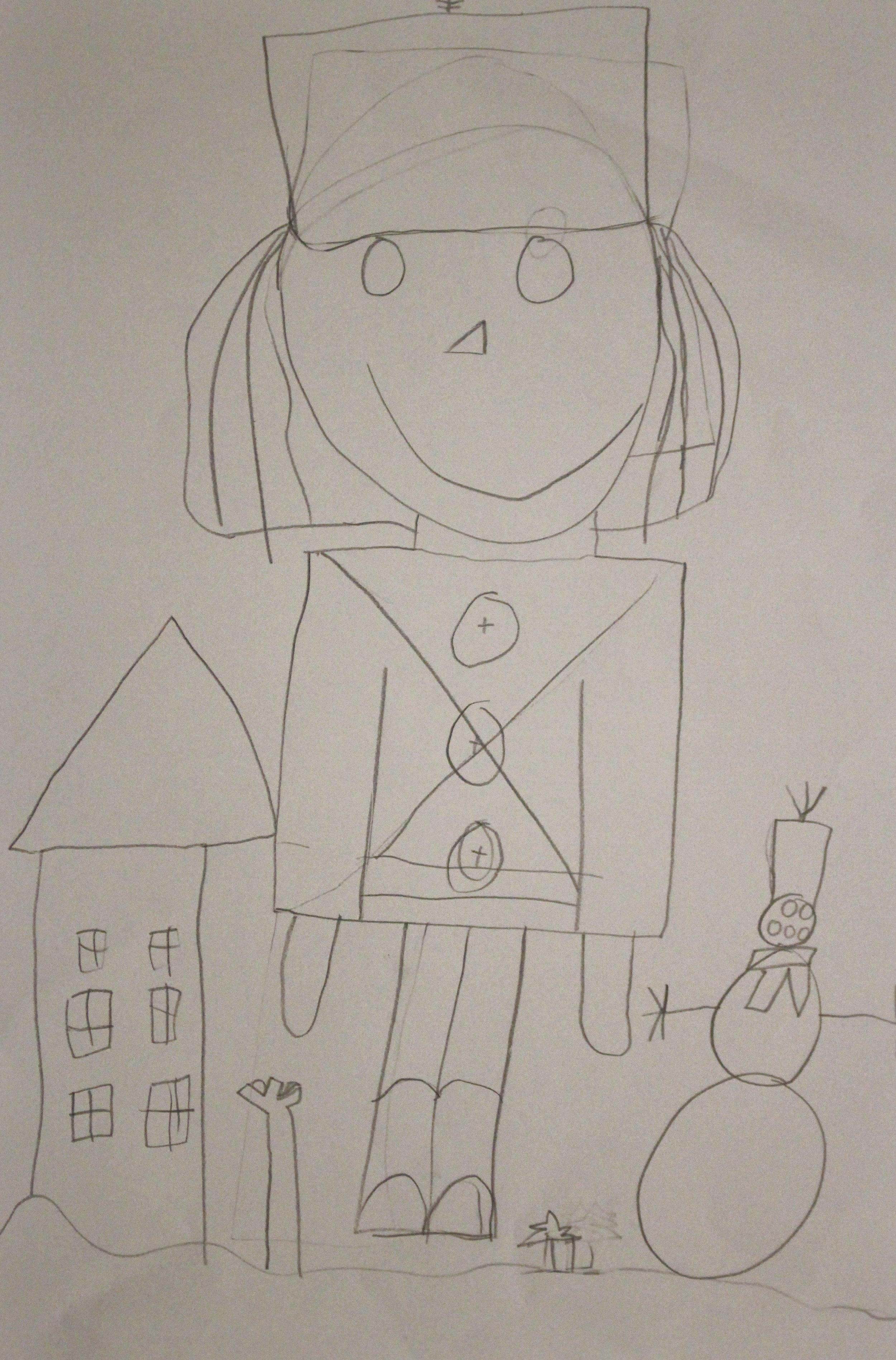 First Grade: Sarah Eilers (Toy Soldier:Work in Progress)