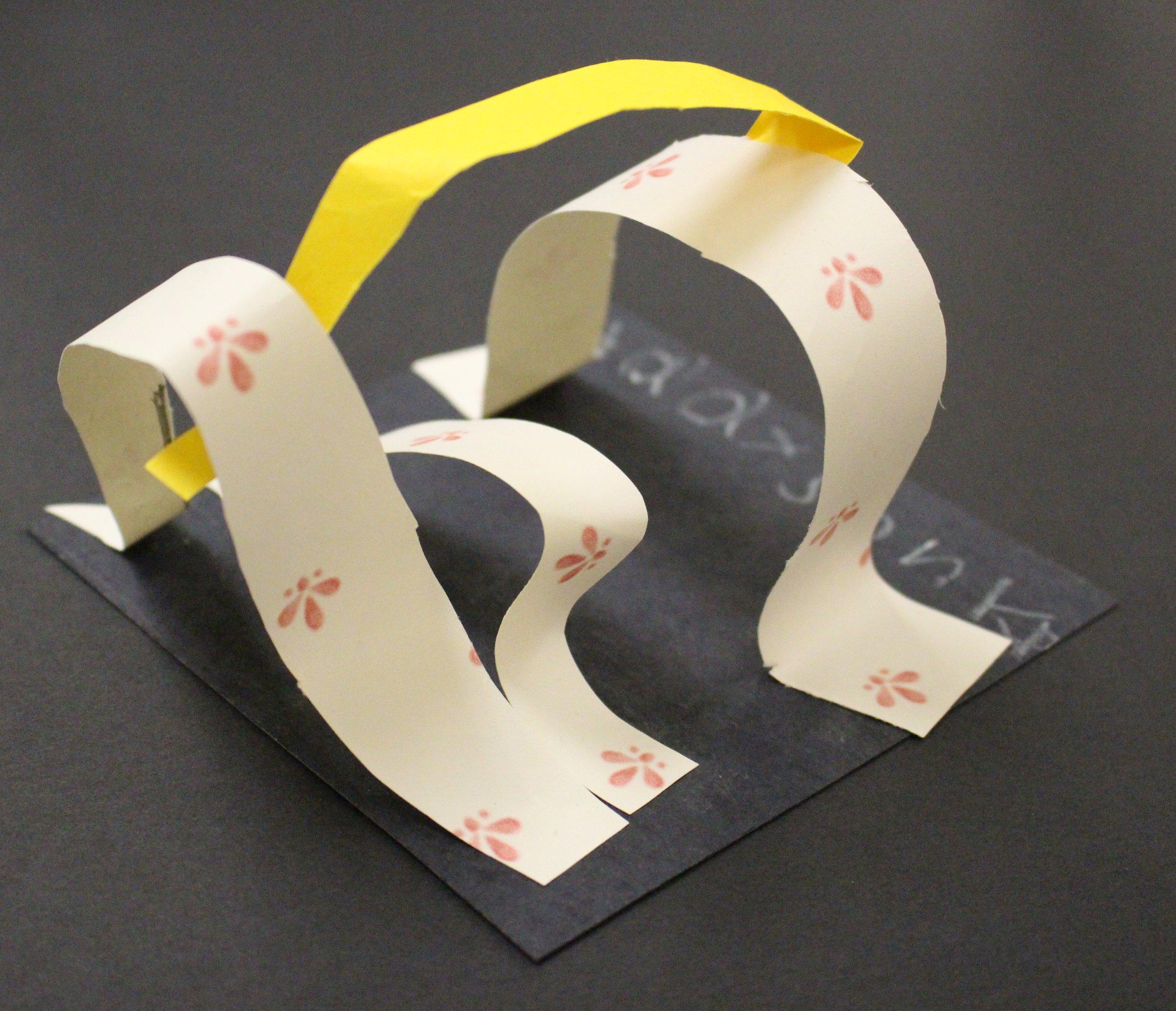 Kindergarten: Addyson Farmer (Alexander Calder Sculptures:Work in Progress)