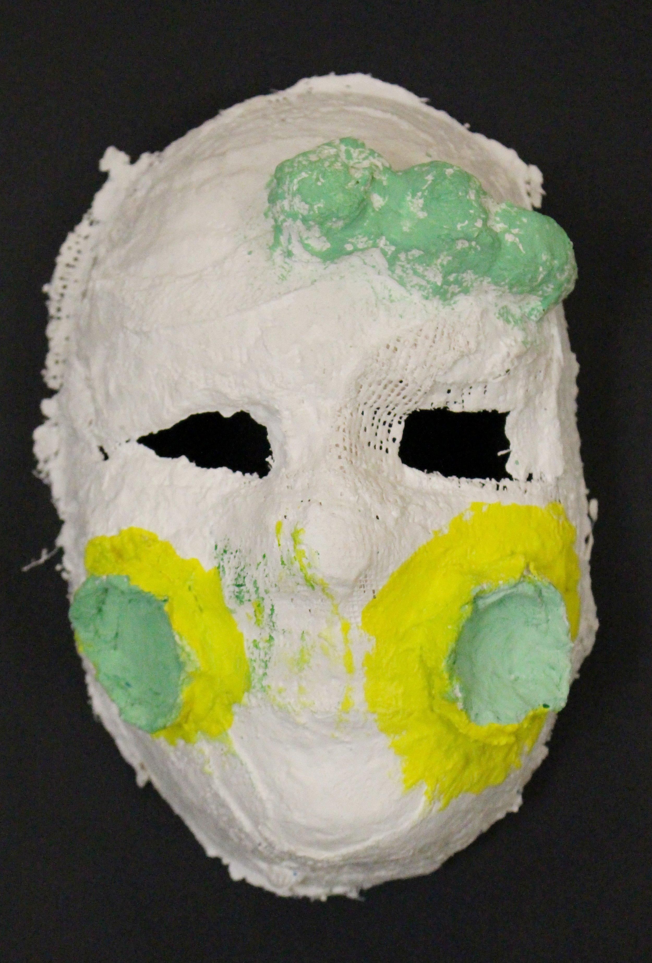 Third Grade: Avalin Bohlinger-Venetian Masks(Work in Progress)