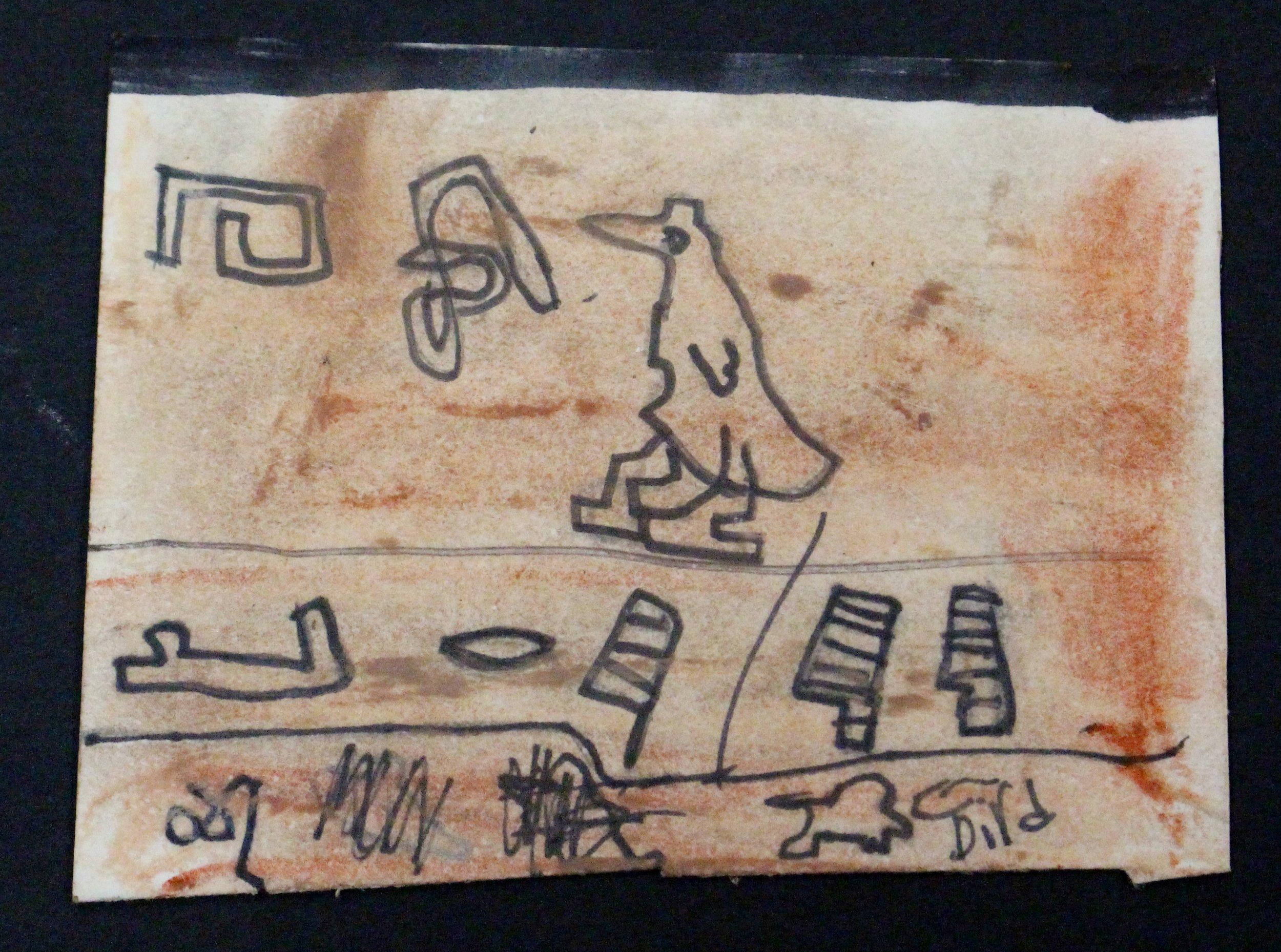 Fifth Grade: Morgan Wright- Ancient Egyptian Mini Scale Art