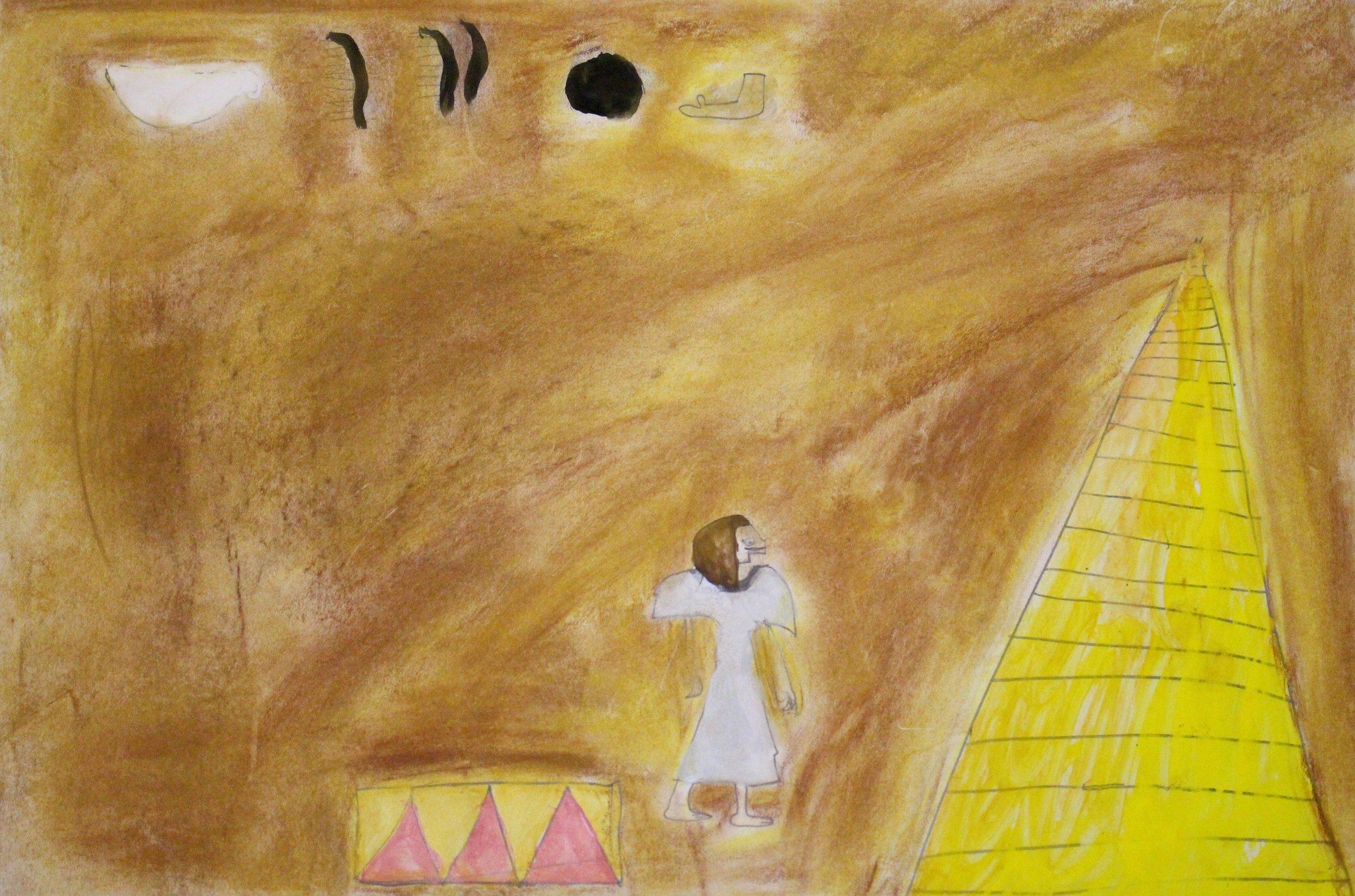 Second Grade: Keira Beardsley-Ancient Egyptian Art