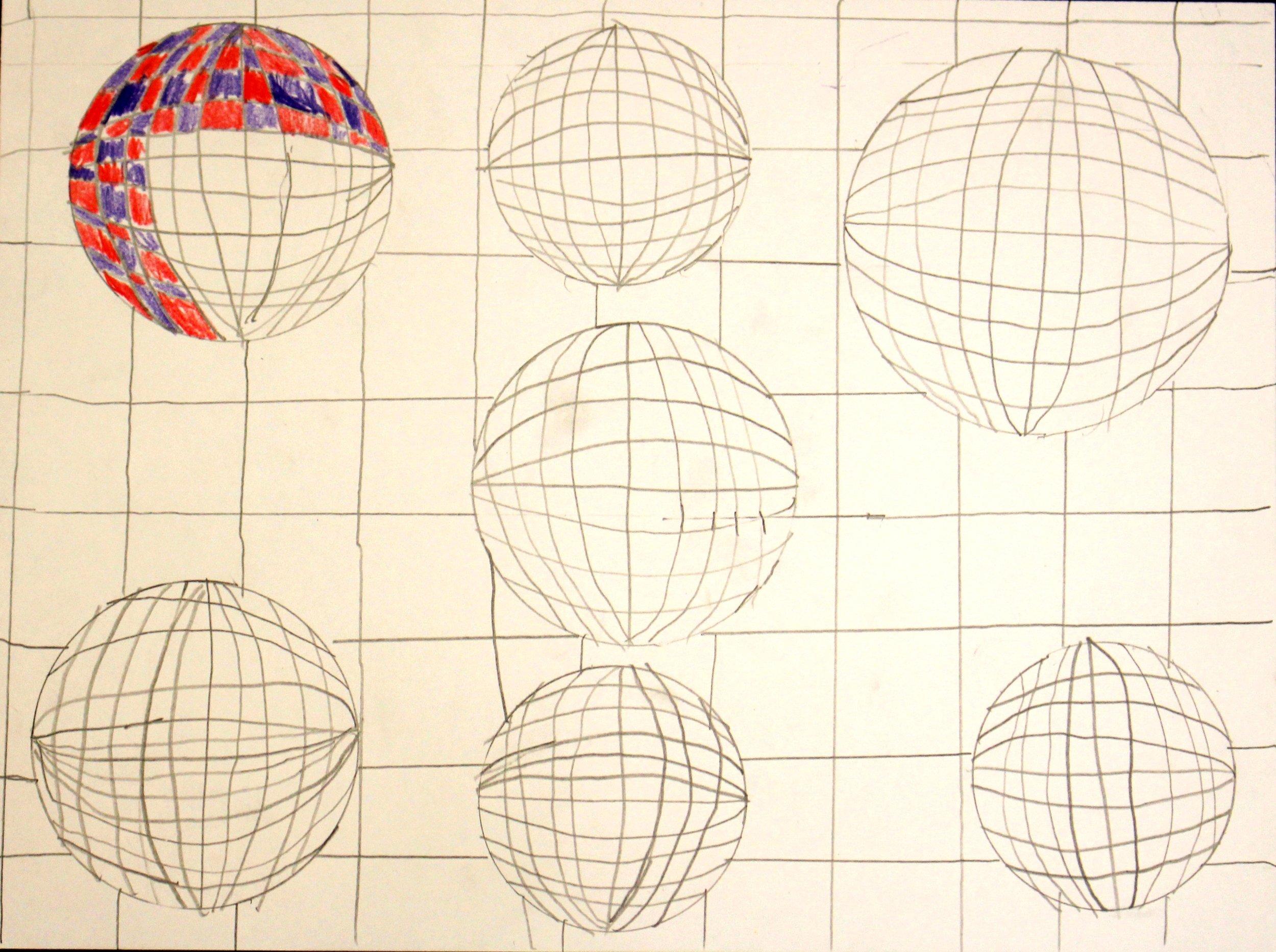 Fourth Grade: Madison Bohlinger (OP Art: Work In Progress)