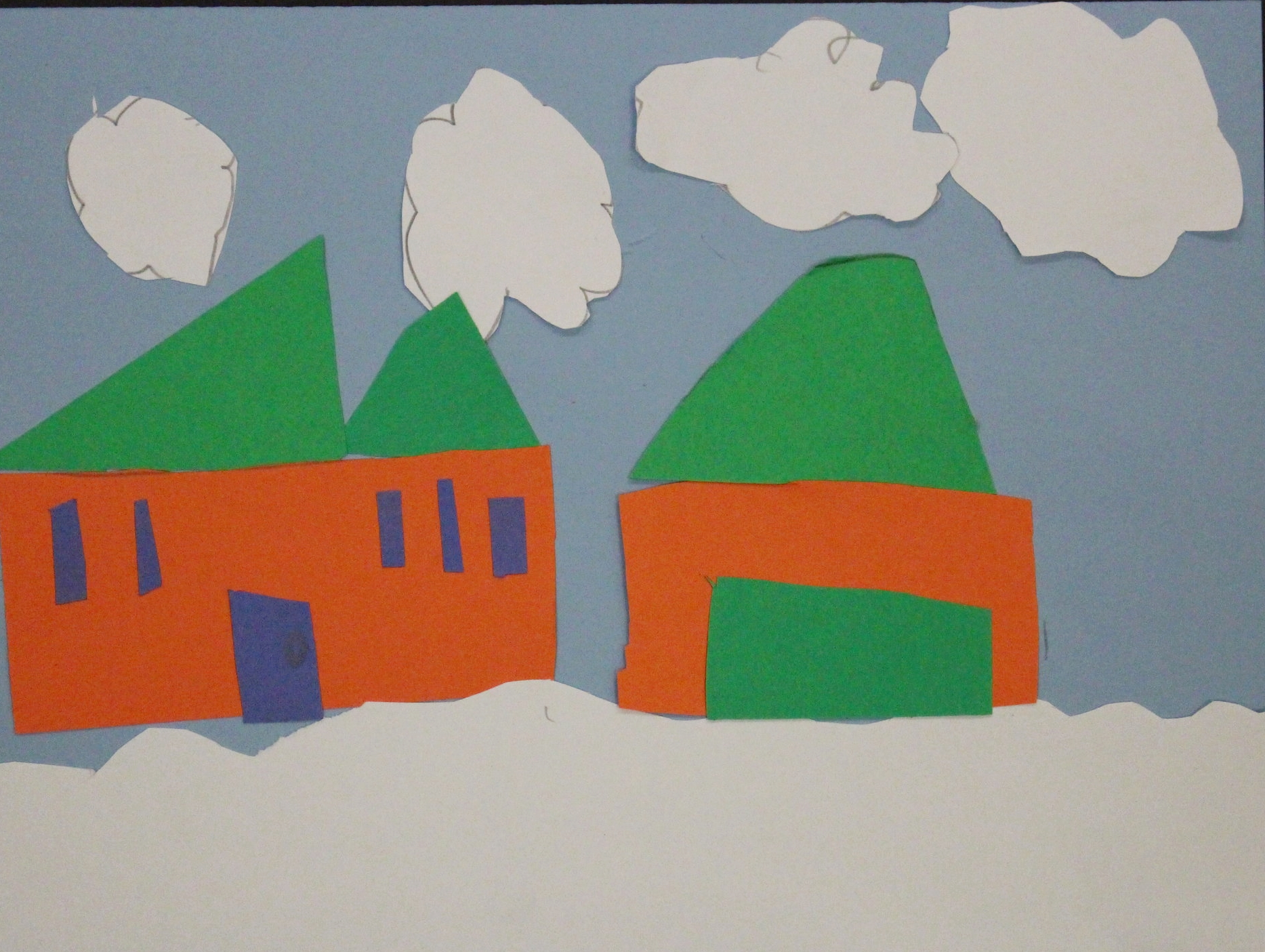 Kindergarten: Chandler Drey (Winter Snowy Houses: Work in Progress)