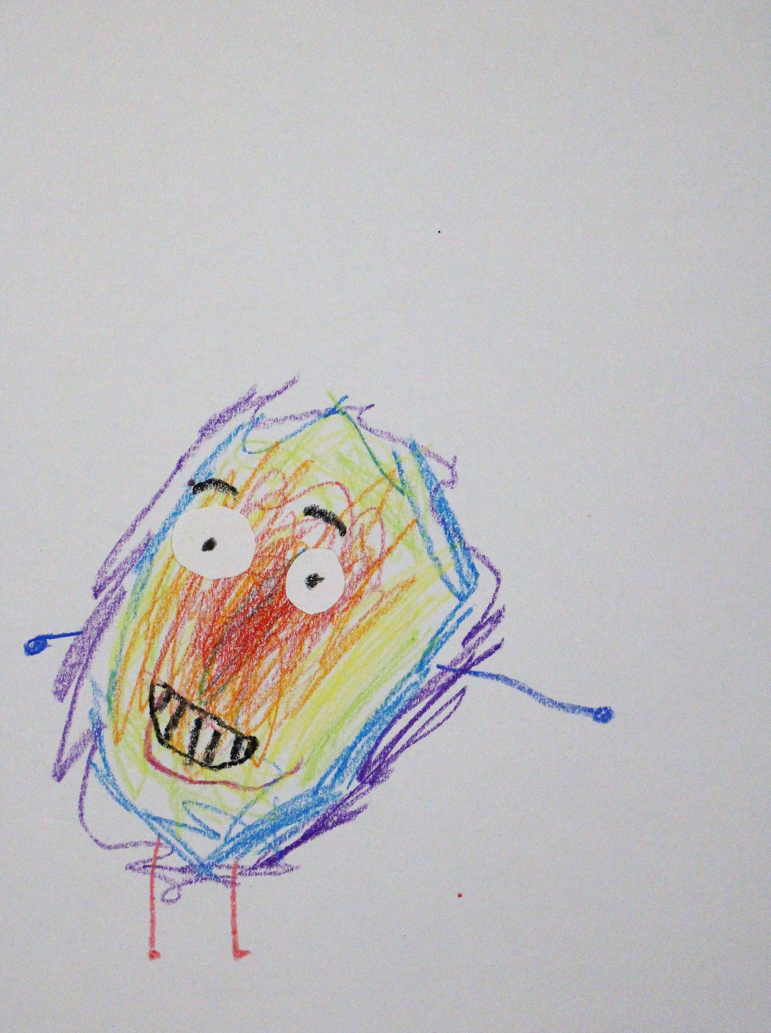 Kindergarten: Alex F. - Artwork: Inspired by the book