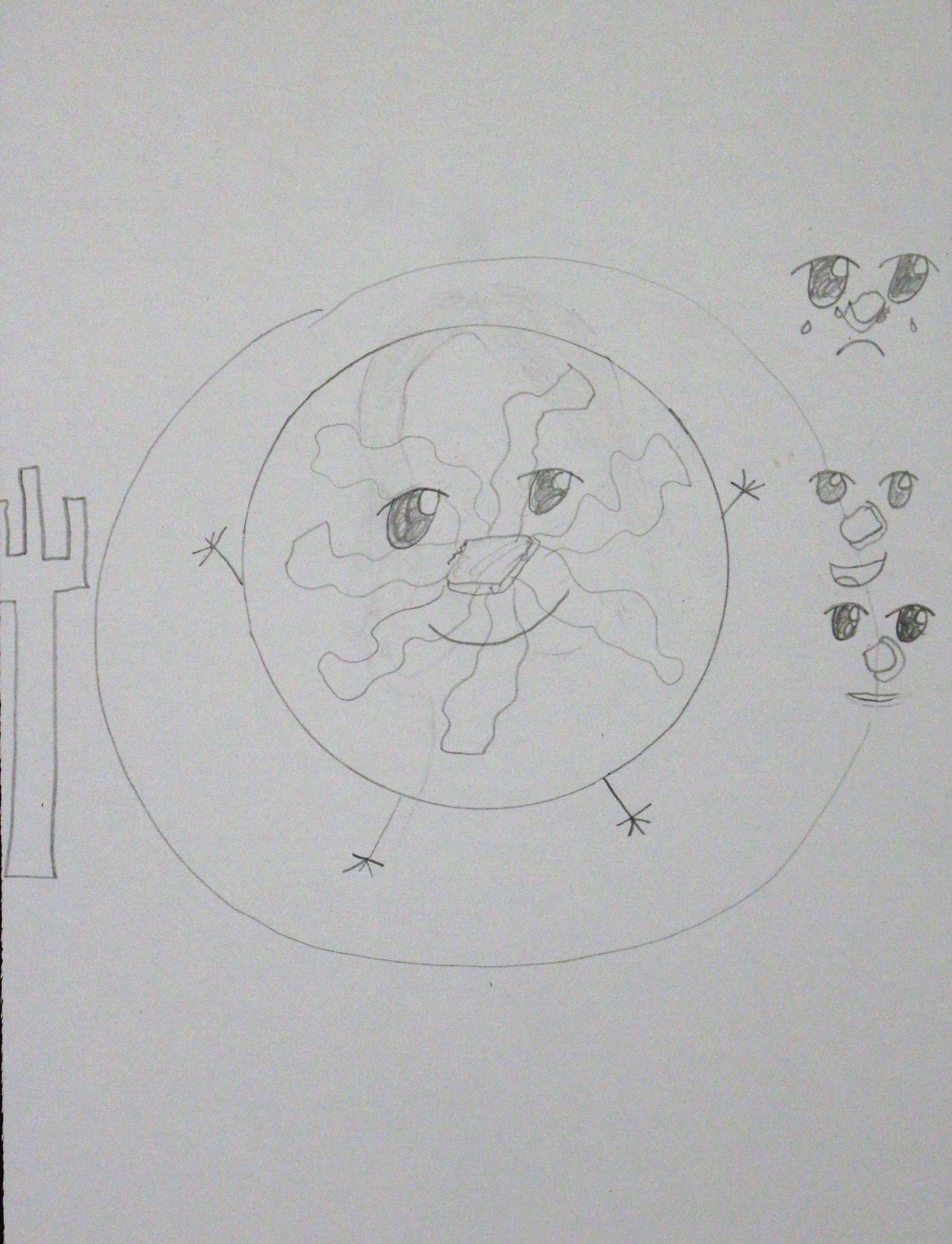 5th Grade: Phoenix W. - Artwork: Comics in Motion(Work In Progress)