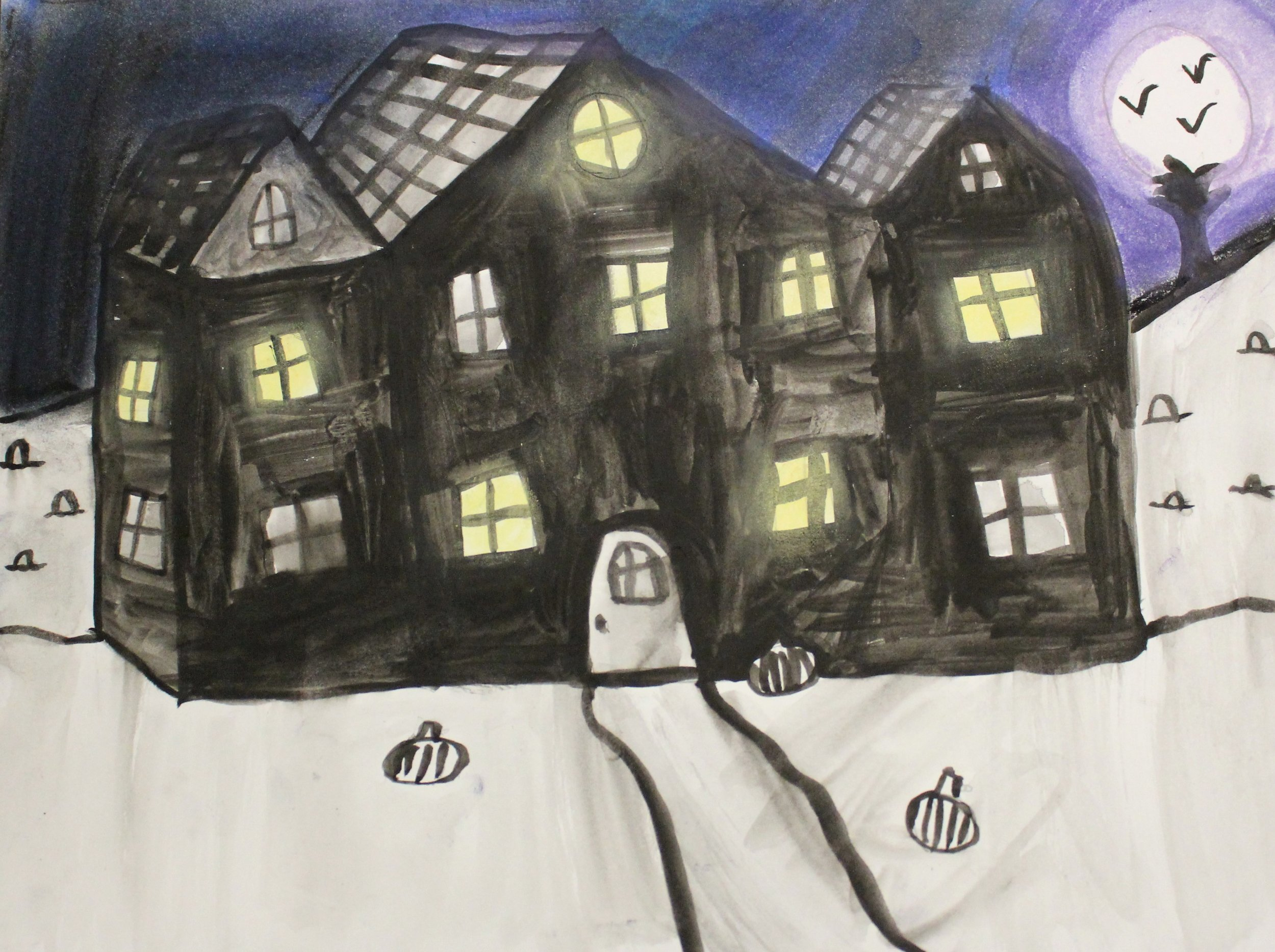 5th Grade: Addison S. - Spooky Victorian Houses