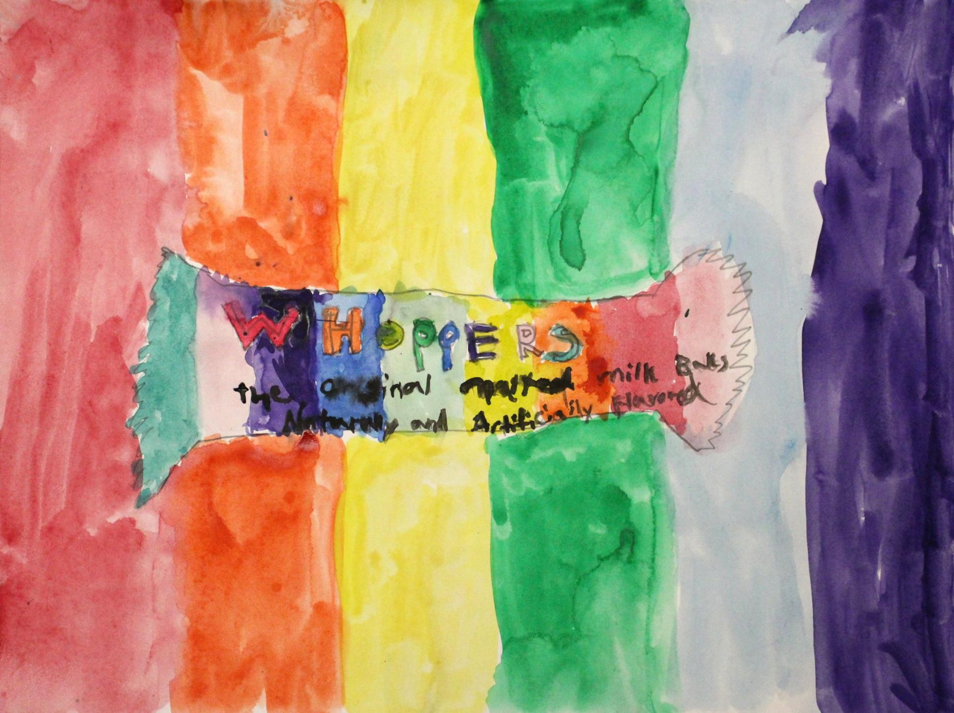 4th Grade: Cora G. - Pop Art Candy