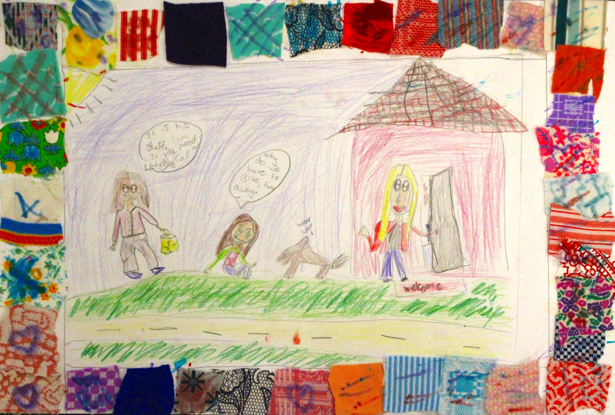 3rd Grade: Abbigail C. - Faith Ringgold: Memory Quilts