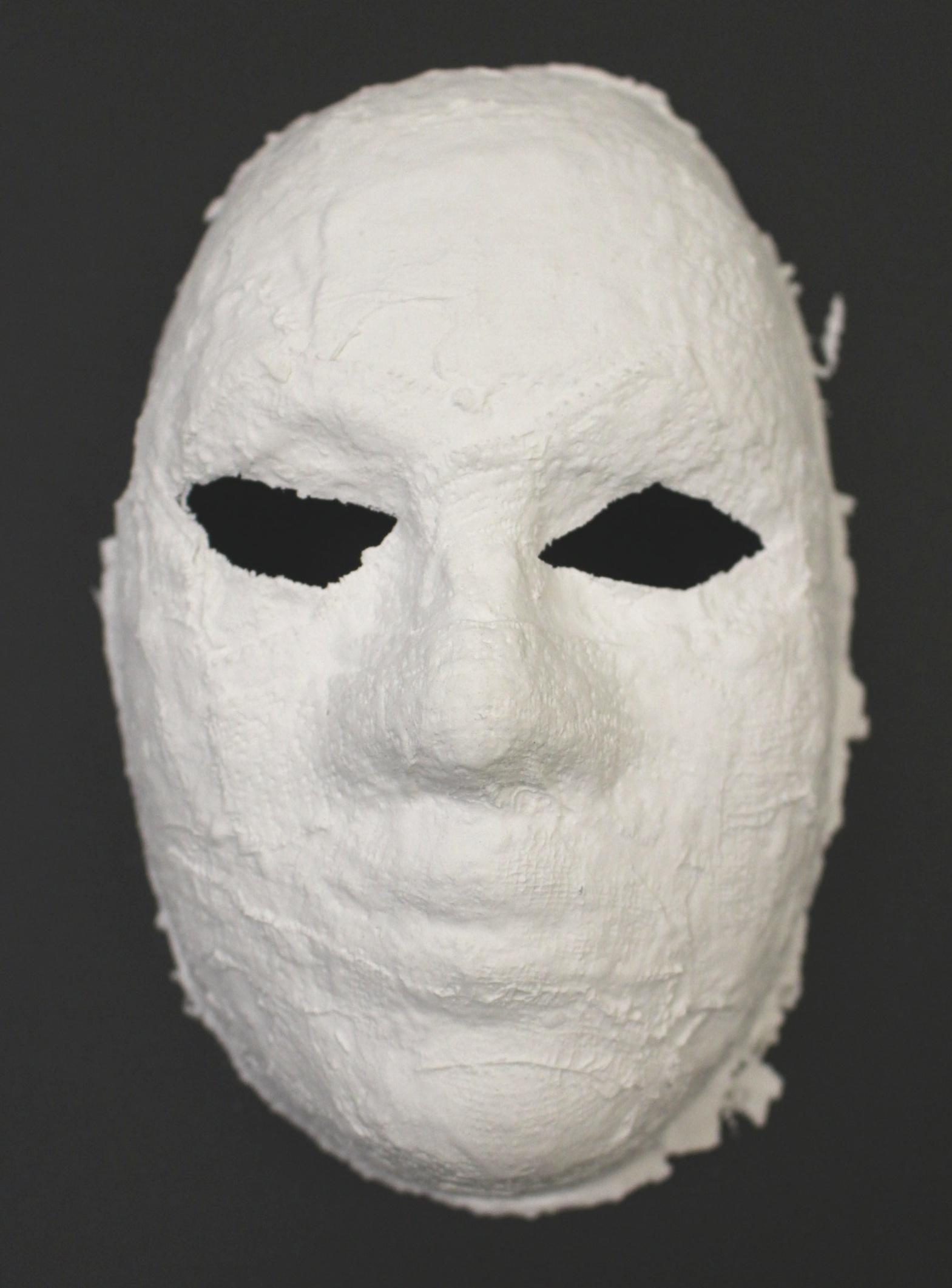 Grade 3: Adrian M. - Venetian Mask (Work In Progress)