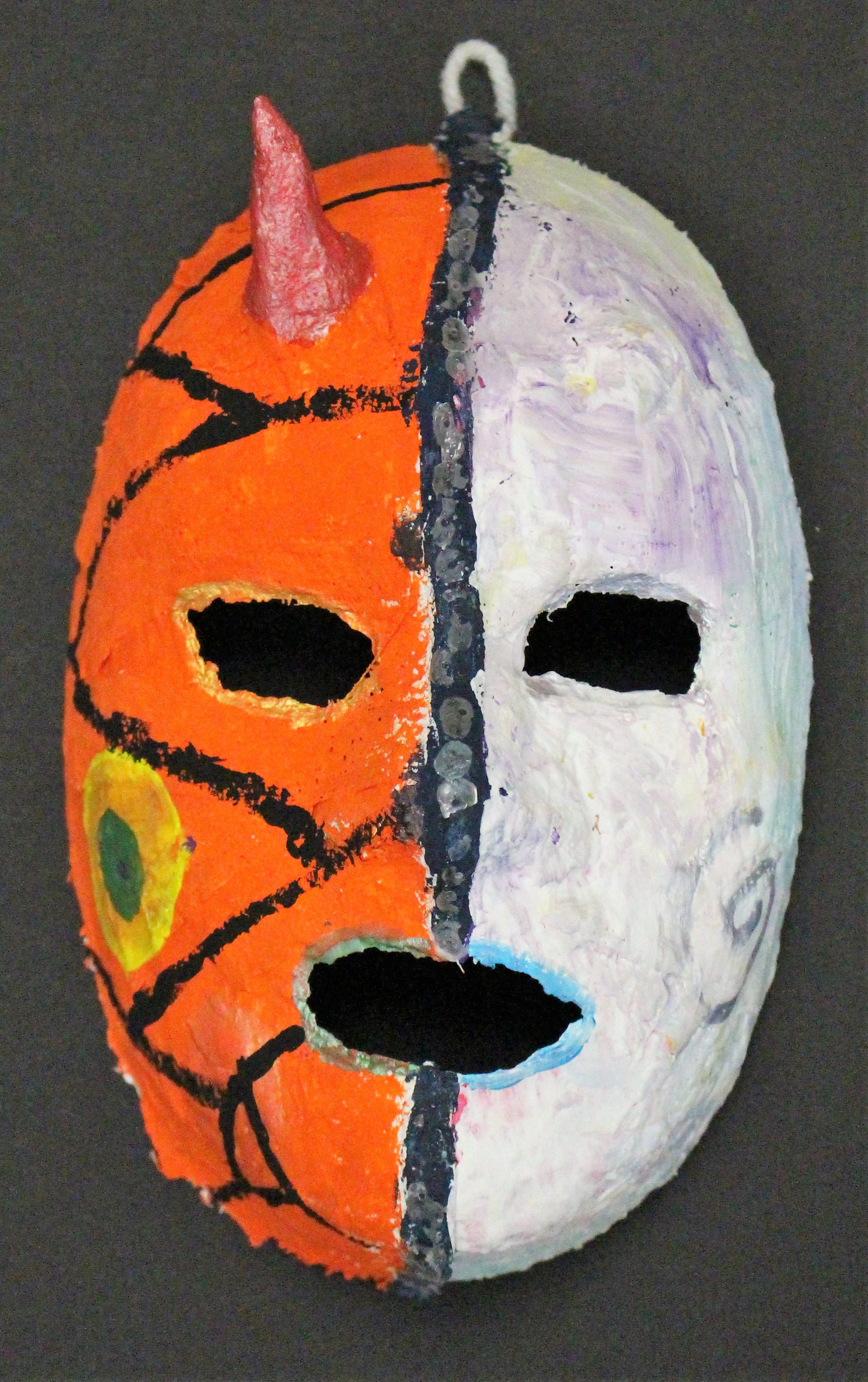 3rd Grade: Kimber C. - Venetian Masks