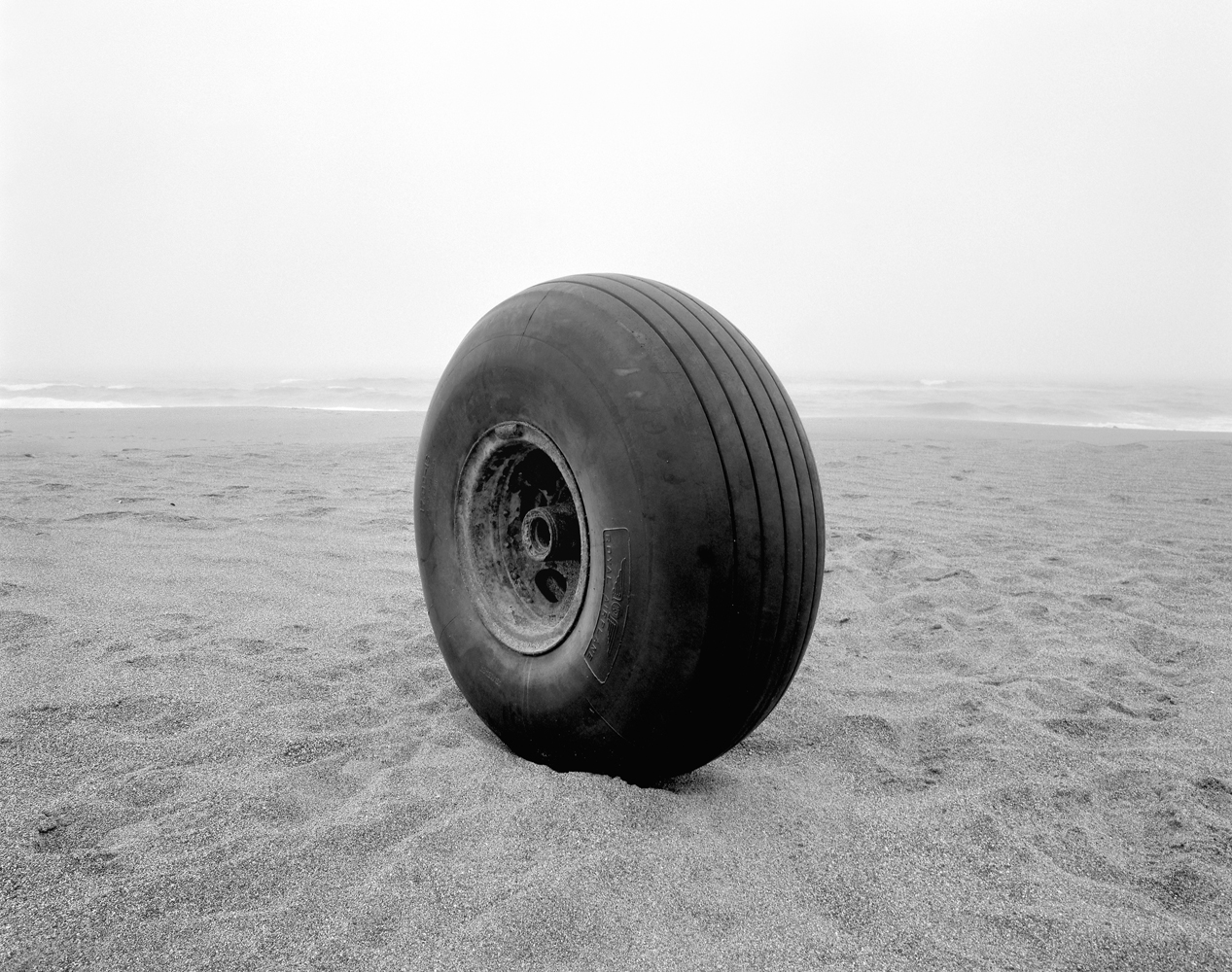 Airplane Wheel, the Great Beach