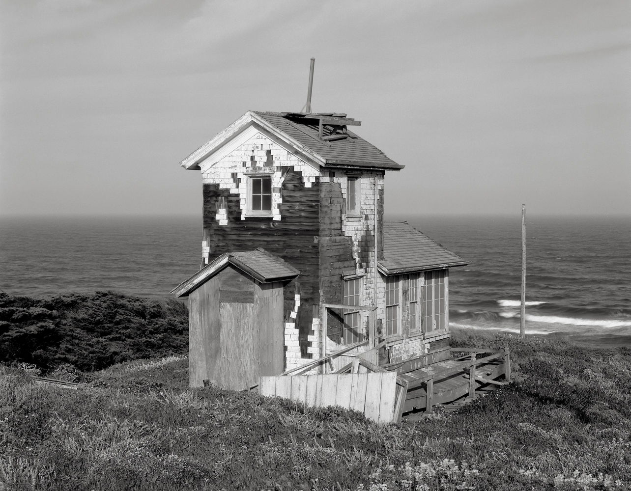 Abandoned Navy Compass Station, the Great Beach