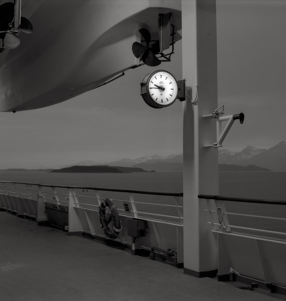 Muster Station 7, Inside Passage, Alaska