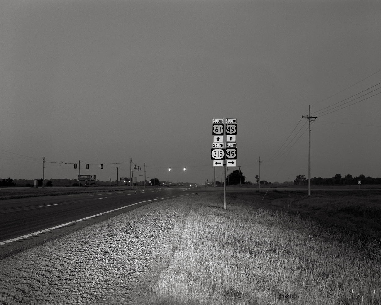 At a Crossroads, near Clarksdale, Mississippi