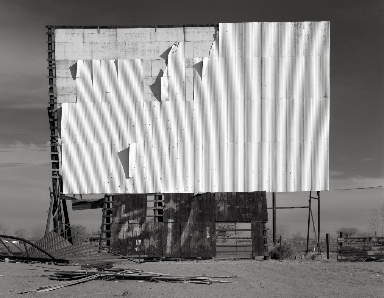 Abandoned Drive-in, Nevada