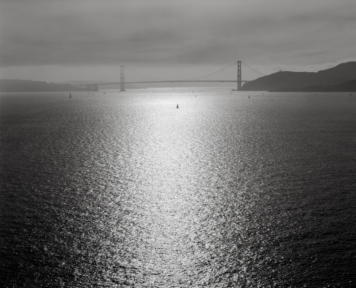 The Golden Gate from Angel Island, late Afternoon