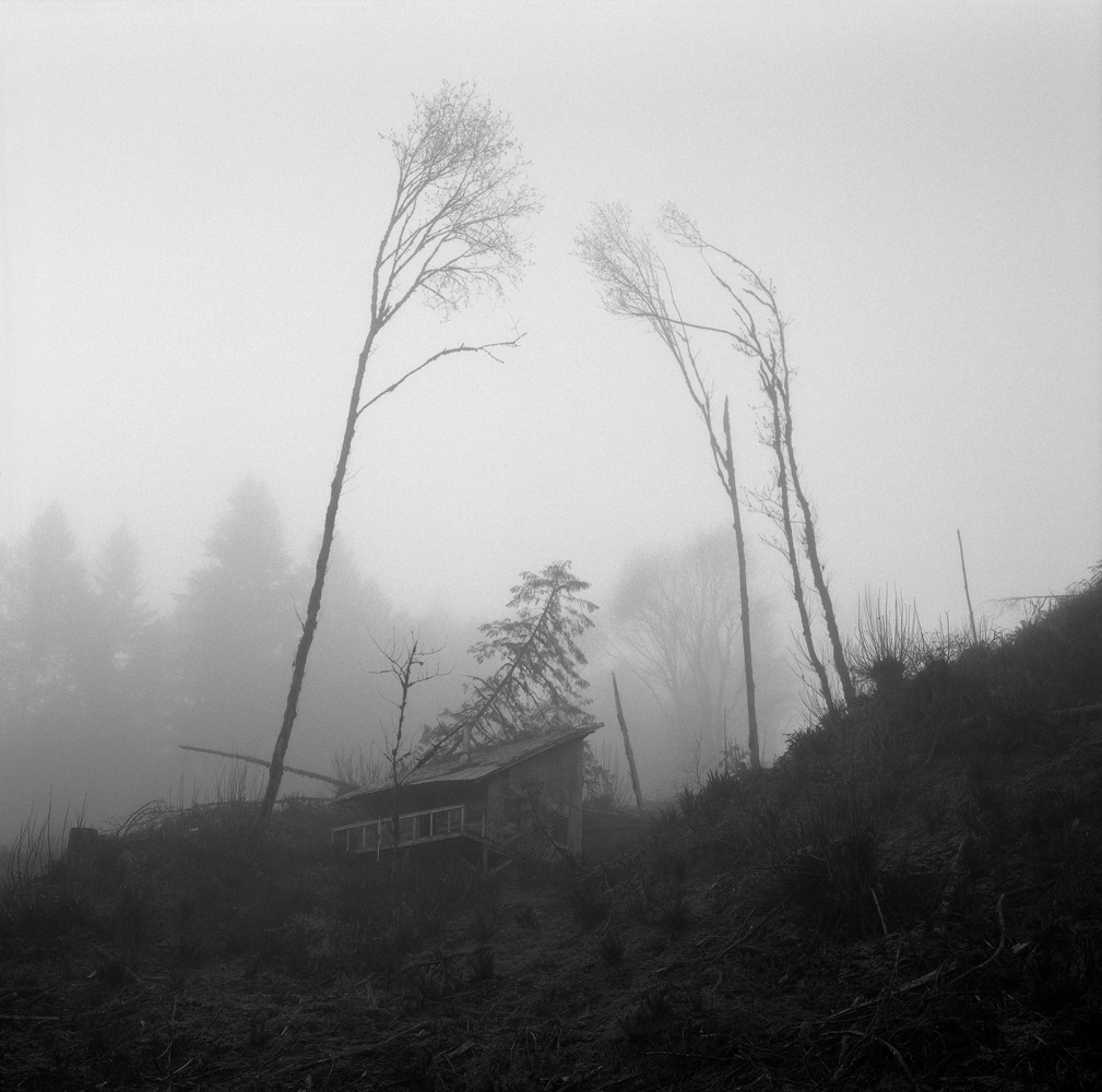 Abandoned Cabin, Oregon