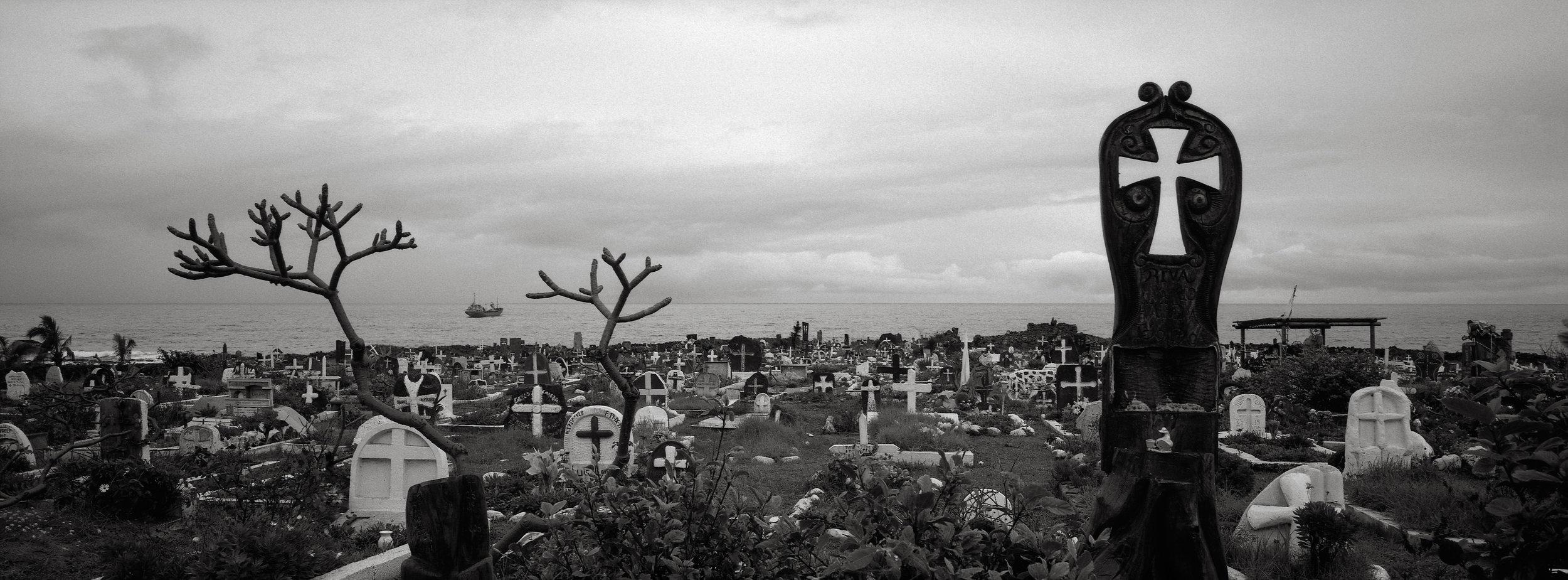 Cemetery, Hanga Roa, Easter Island