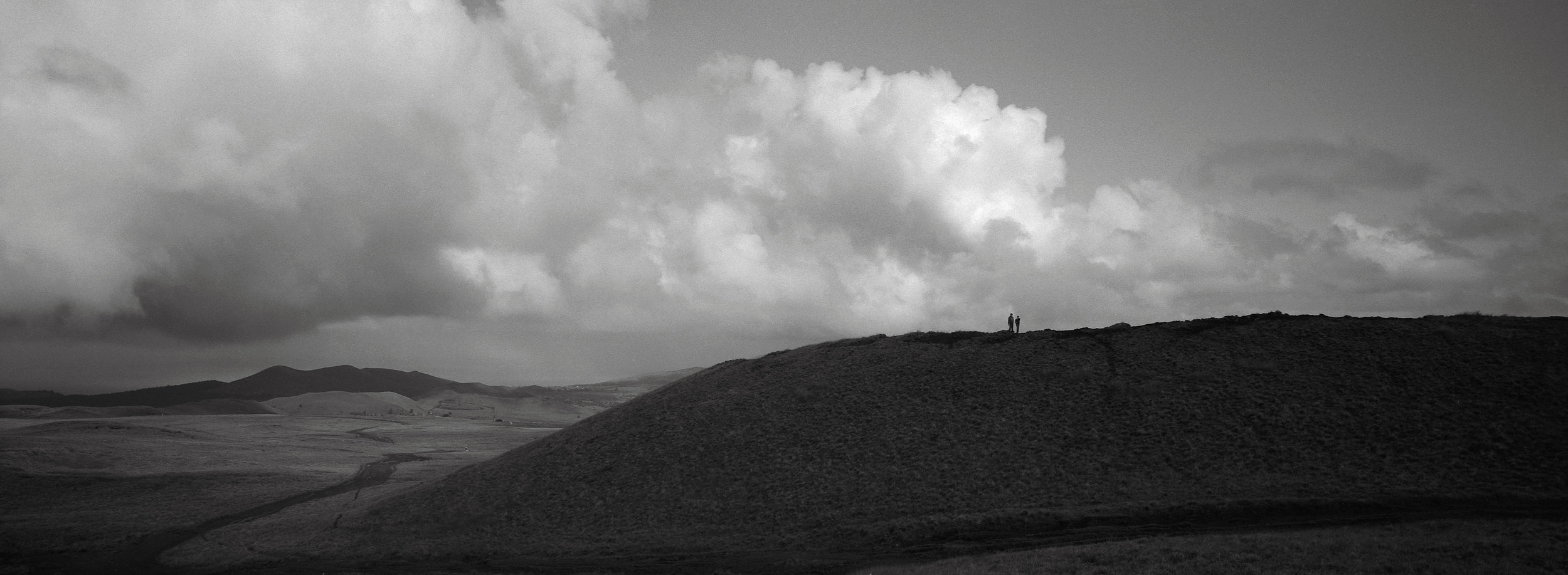 My Sons on a Hilltop, Easter Island