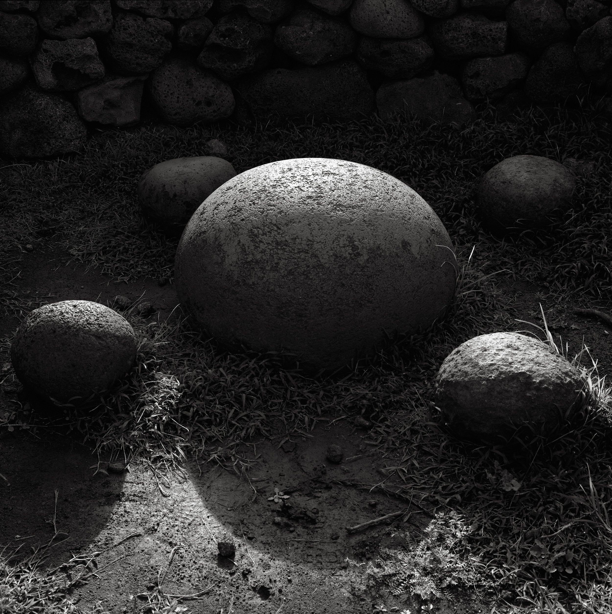 Rounded Stones, Easter Island