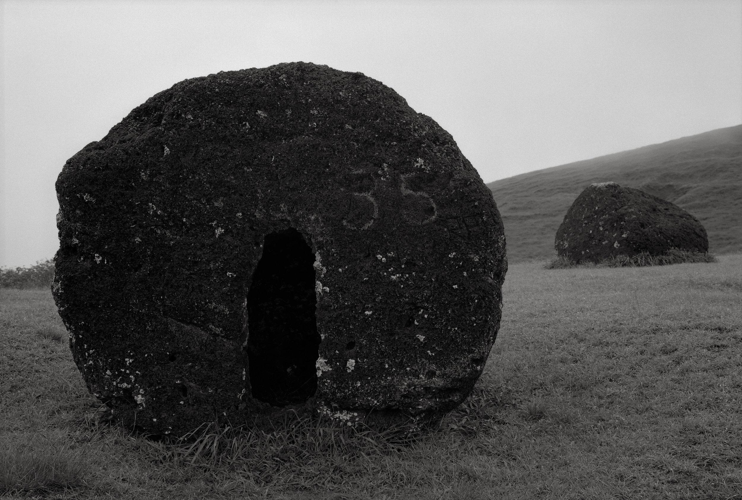 Topknots, Puna Pau, Easter Island