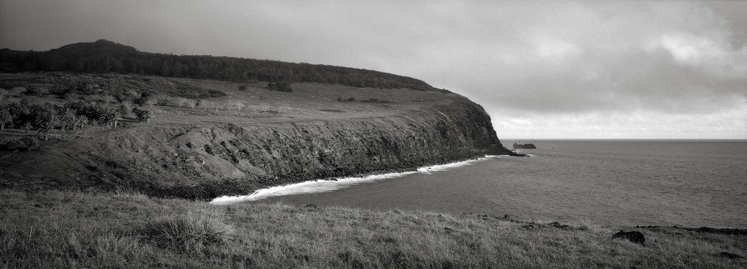 Headland, Easter Island