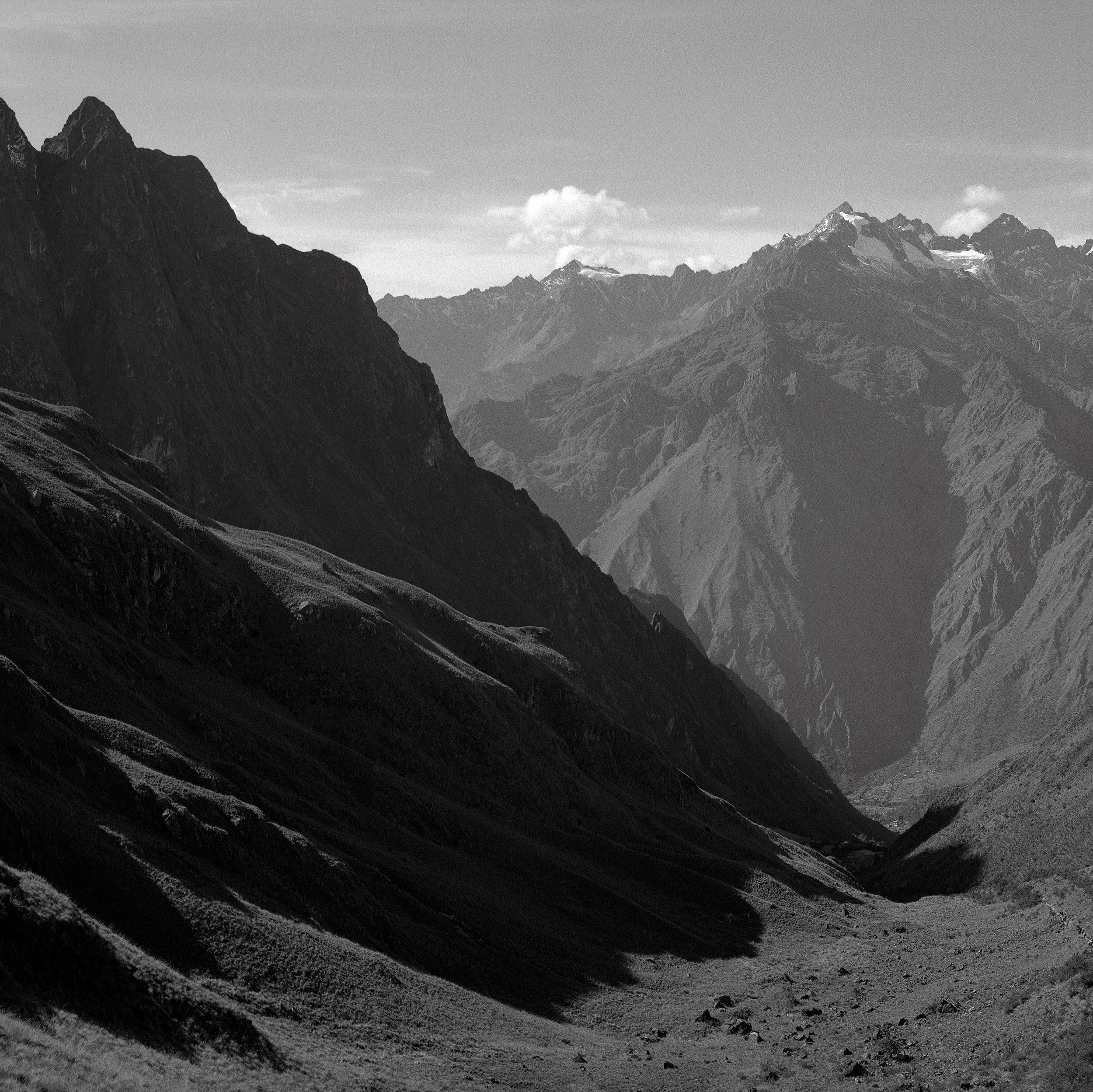 In the Valley of Llulluchapampa, Peru