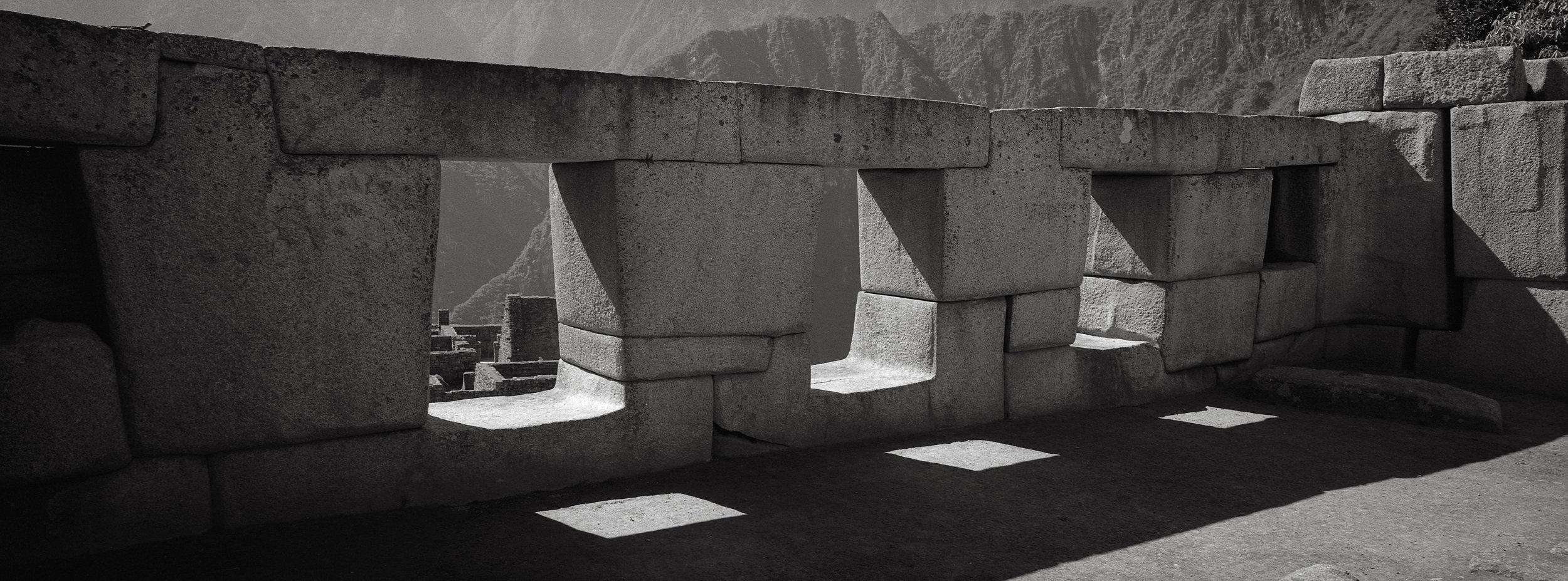 The Temple of the Three Windows, Machu Picchu