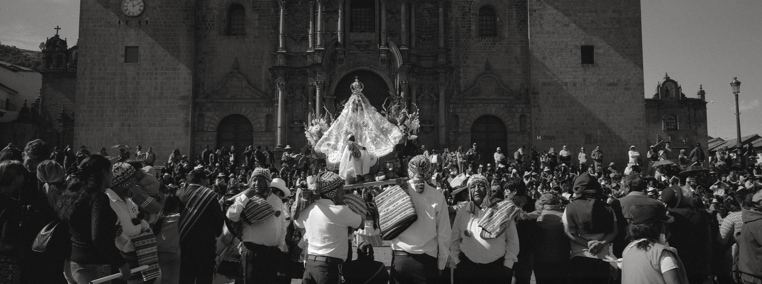 Parade, Cusco, Peru