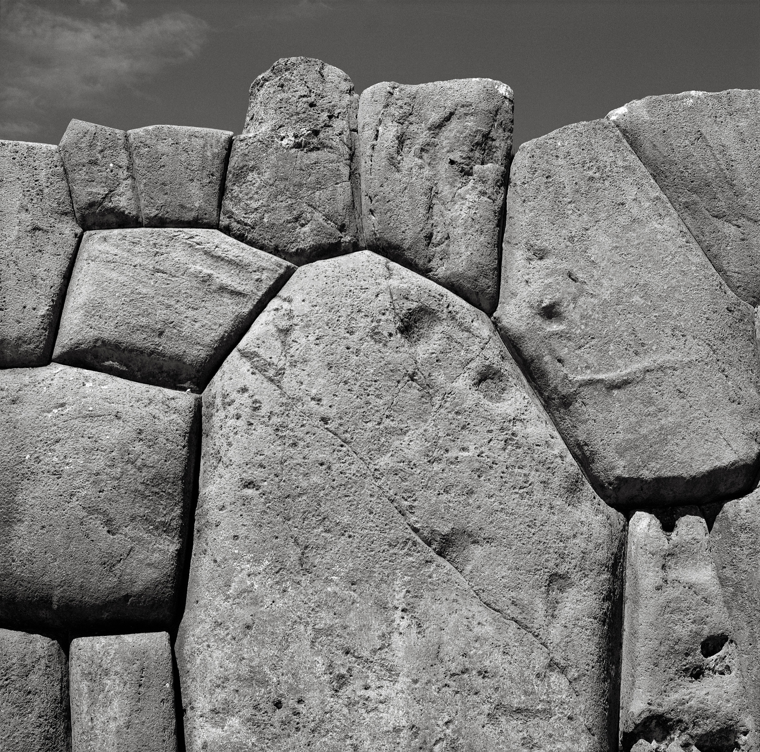 Inca Stonework, Sacsayhuaman, Cusco, Peru