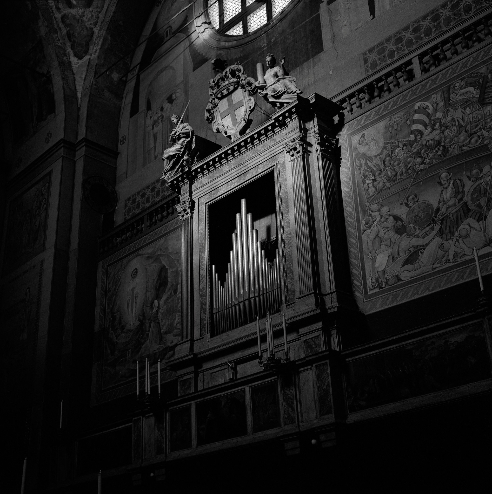 In the Church of Santa Maria del Carmine, Padua, Italy